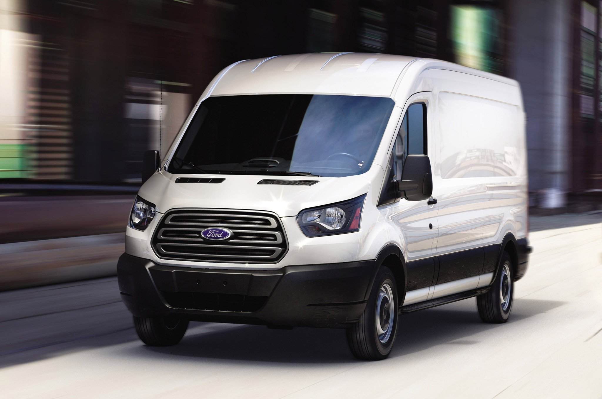 2015 Ford Transit Cargo Van Review