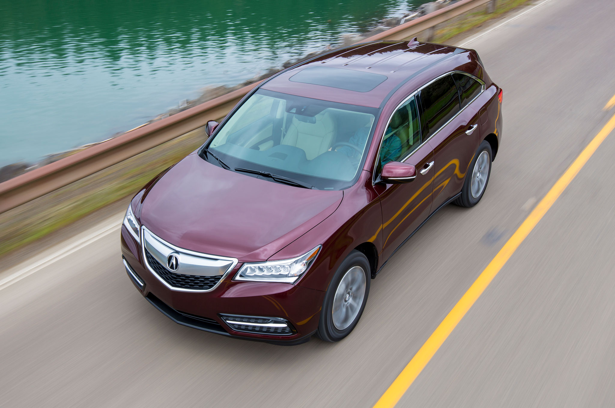 Acura MDX Updated With NineSpeed Automatic New Tech Features - 01 acura mdx transmission