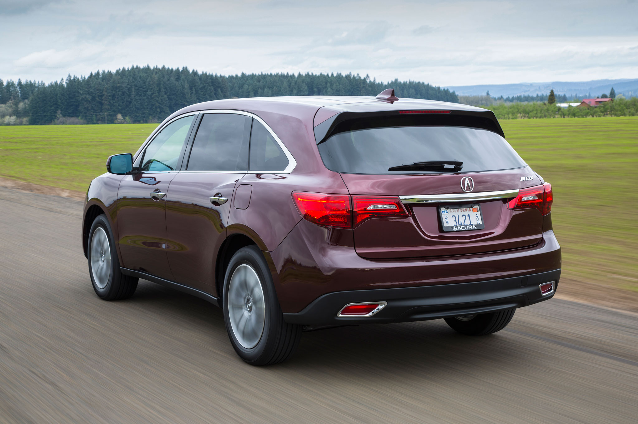 2016 Acura Mdx Updated With Nine Speed Automatic New Tech Features 2002 Transmission Rear Three Quarter In Motion 02