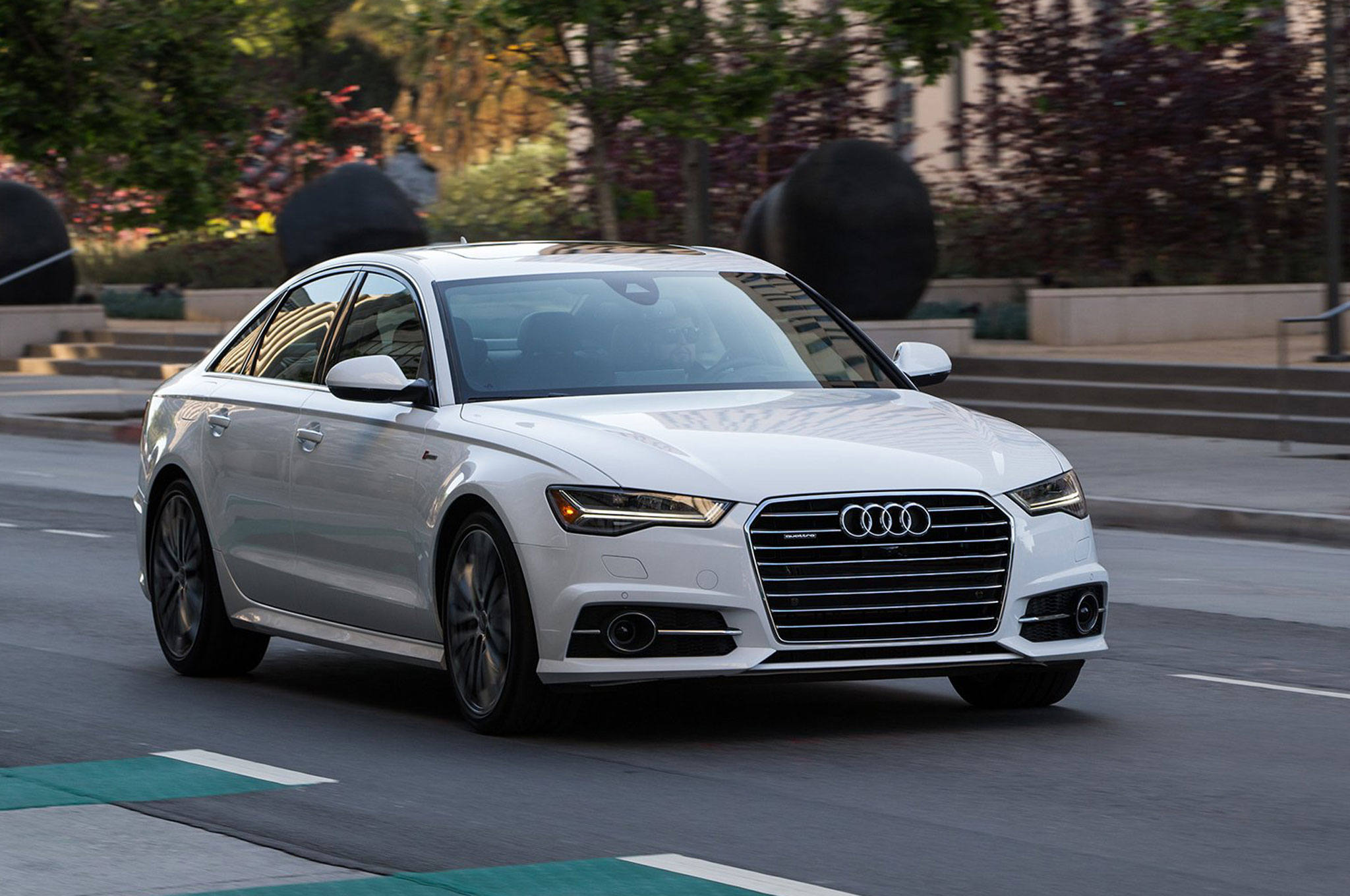 2016 Audi A6 3 0t Front Three Quarter In Motion 03