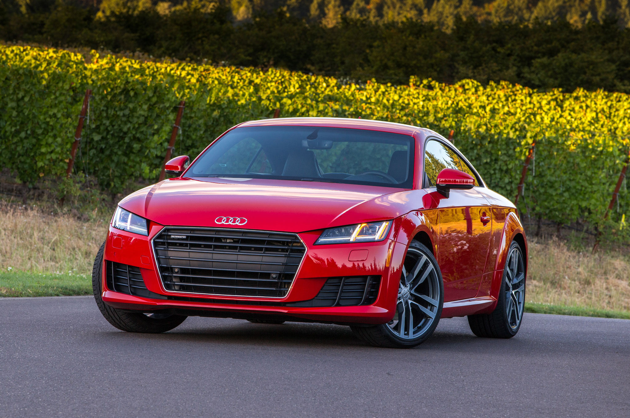 2016 Audi Tt Front Three Quarter