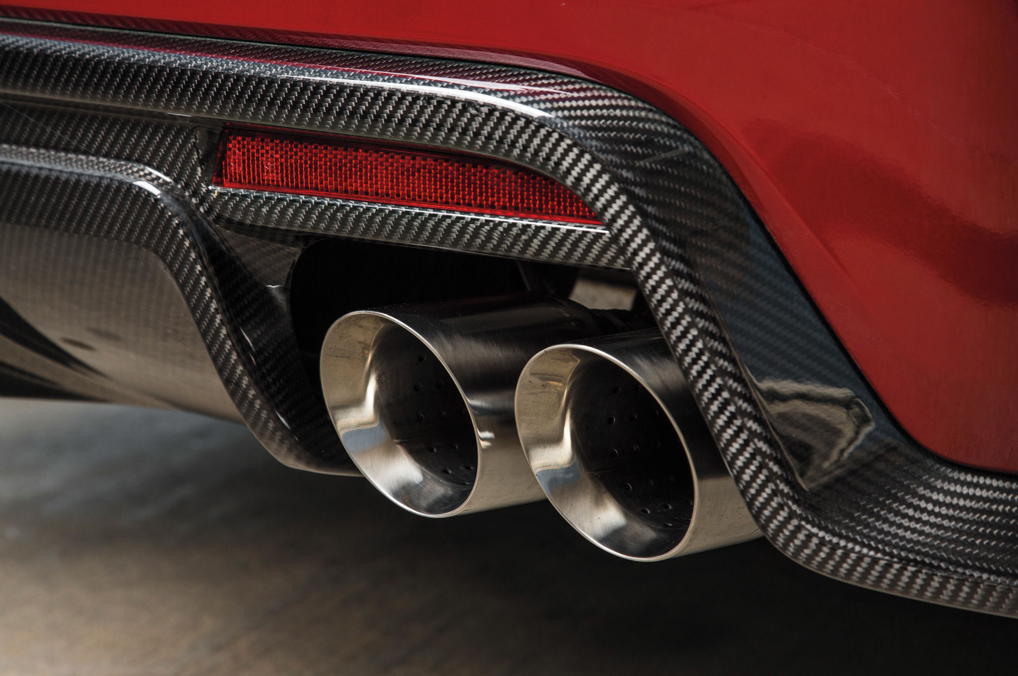 2016 Cadillac Cts V Sedan Exhaust