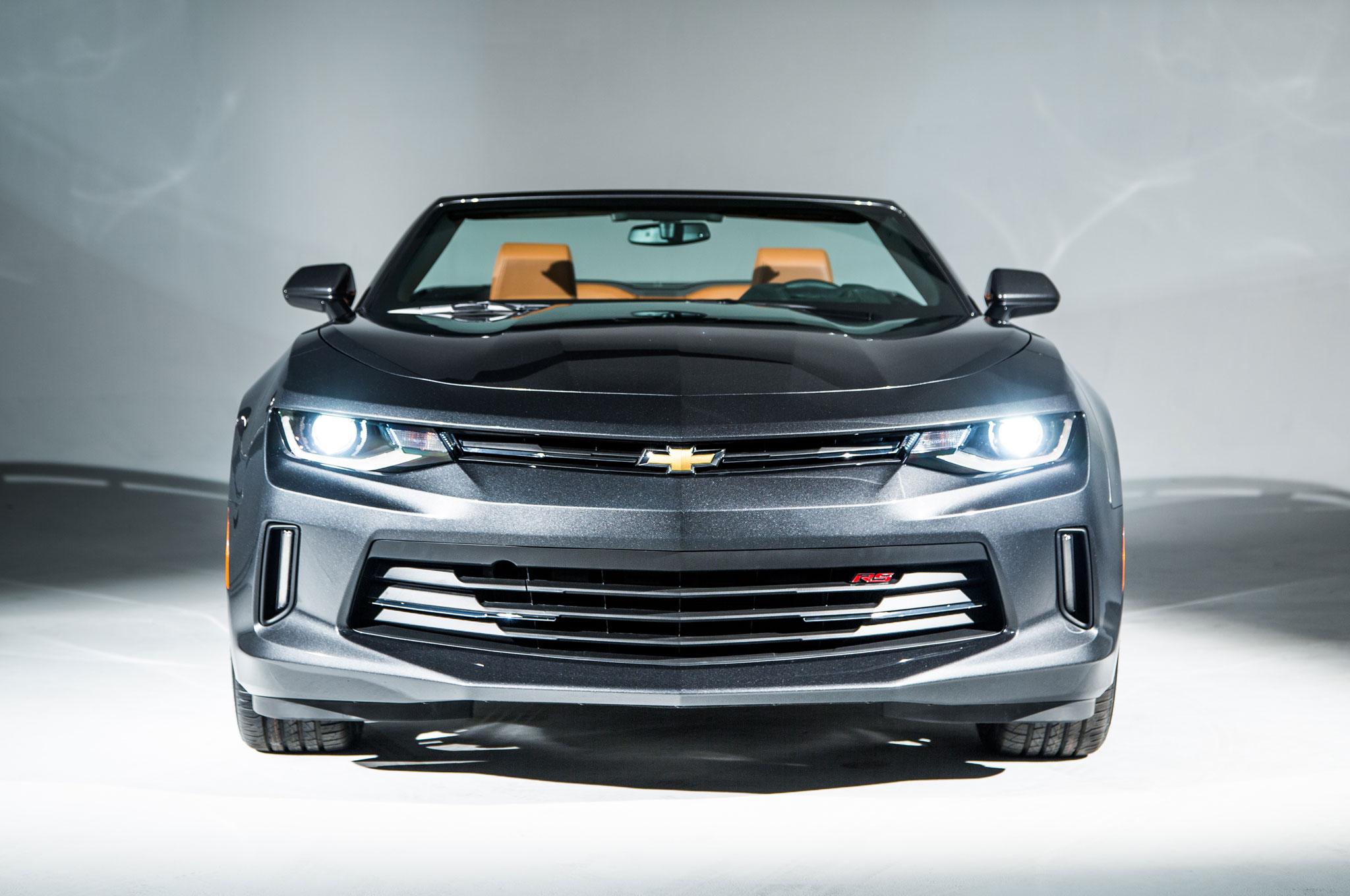 2016 Chevrolet Camaro Convertible Front End