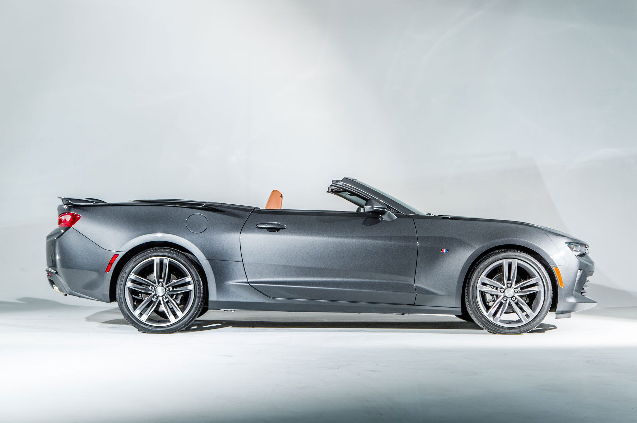 2016 Chevrolet Camaro Convertible Side Profile