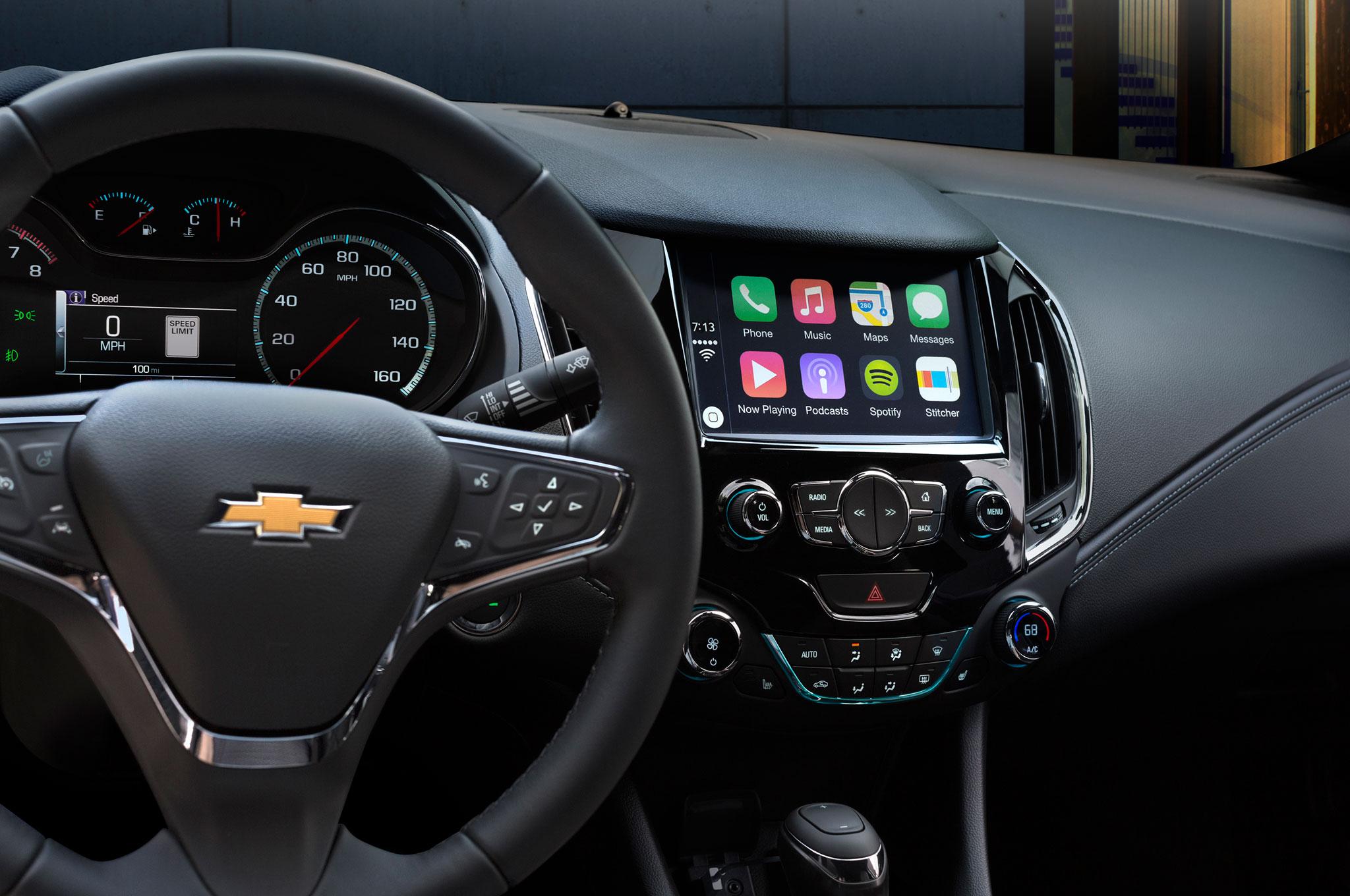 2016 Chevrolet Cruze Interior Center Stack