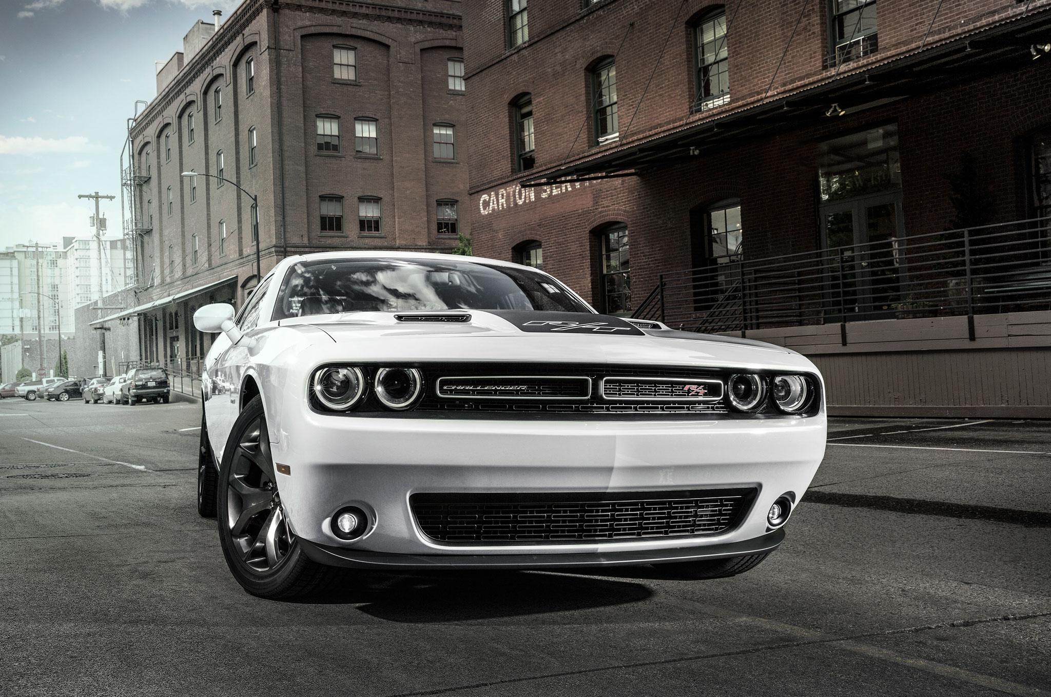 2016 Dodge Challenger R T Front End