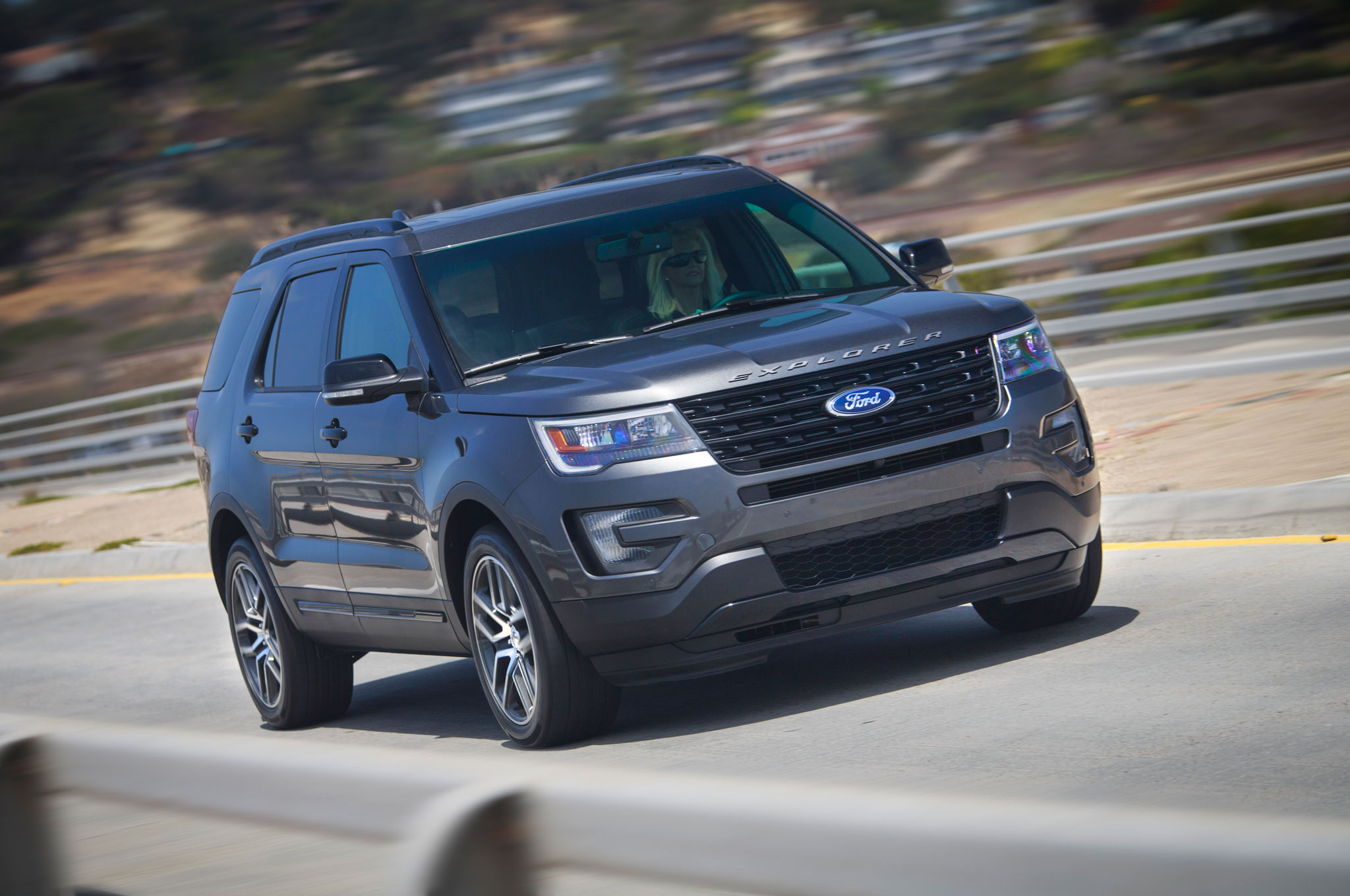 But when youre driving the explorer with its turbo four on one of those winding roads that lead to the campground lake or trailhead
