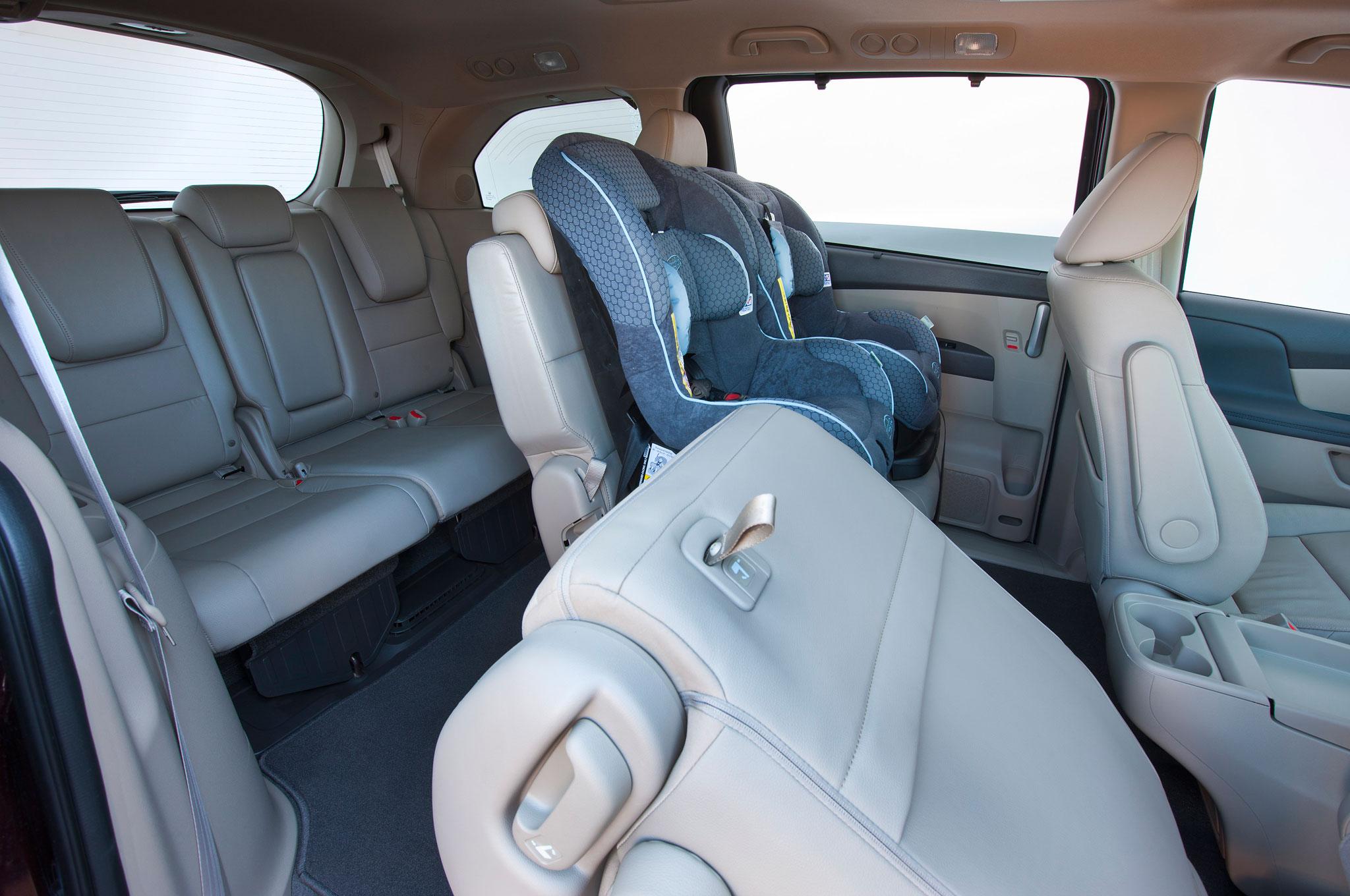 2016 Honda Odyssey Touring Rear Seats