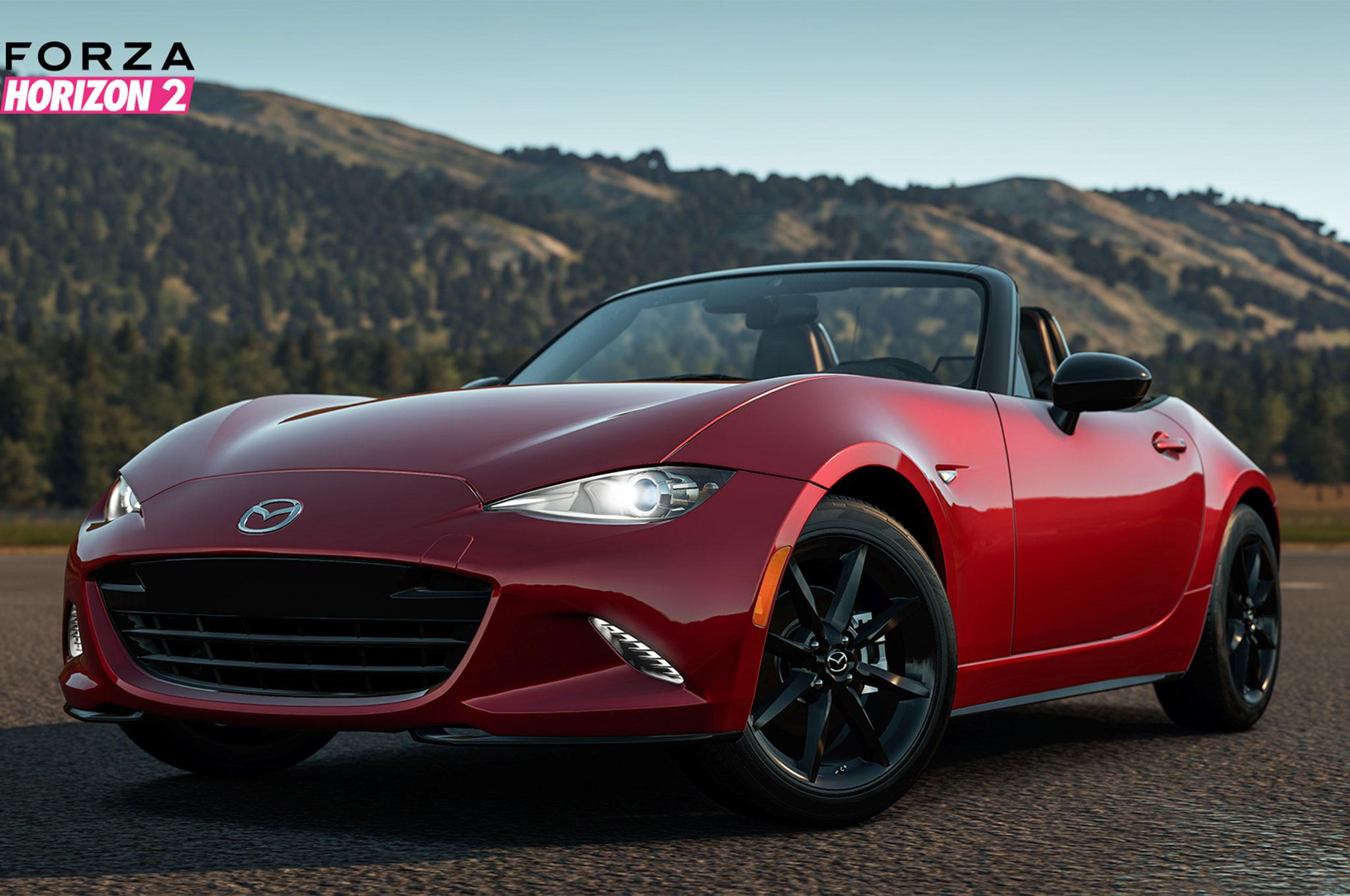 2016 Mazda Mx 5 Miata In Forza Horizon 2 Front Three Quarter