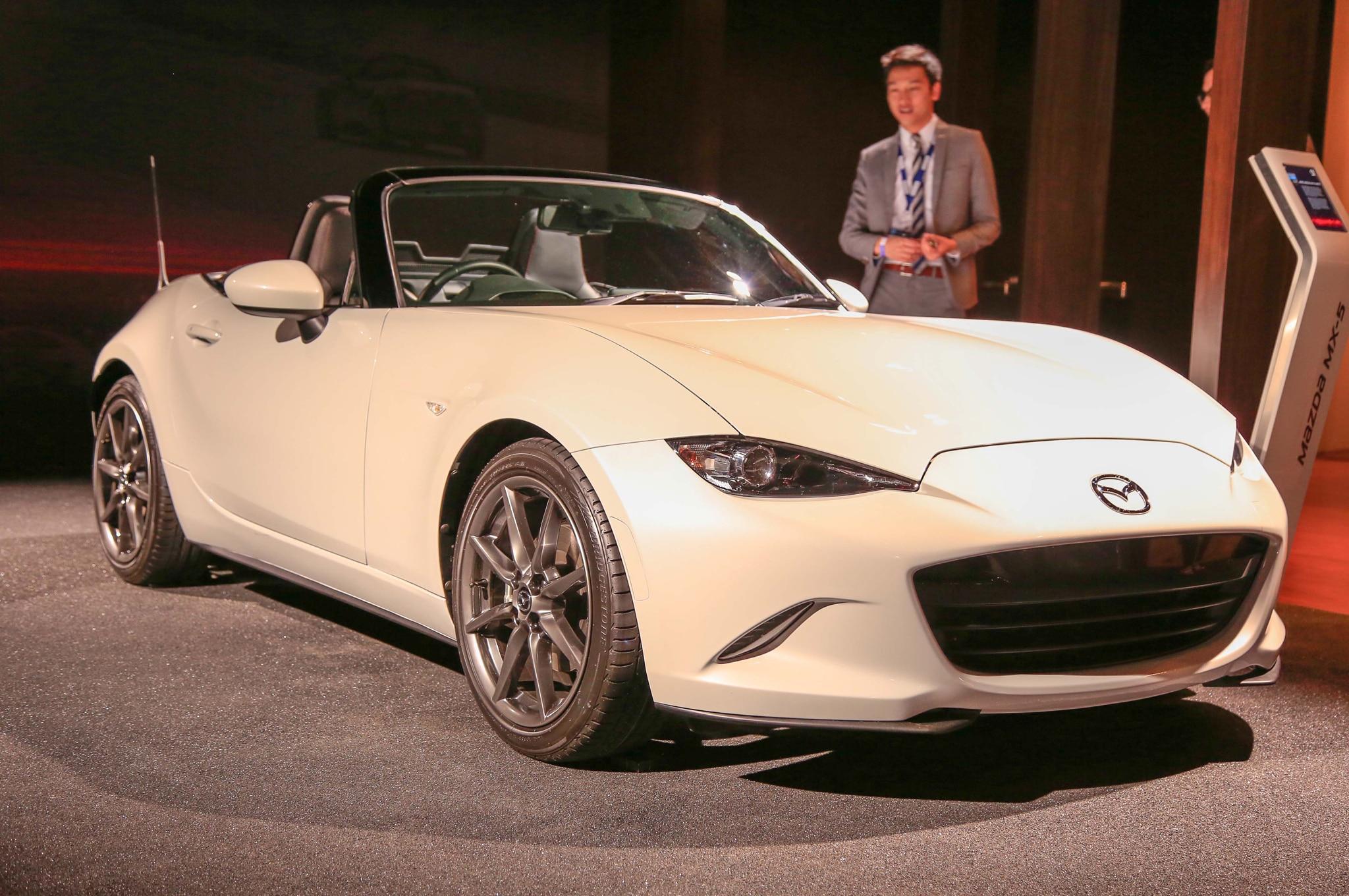 2016 Mazda MX-5 Miata Revealed