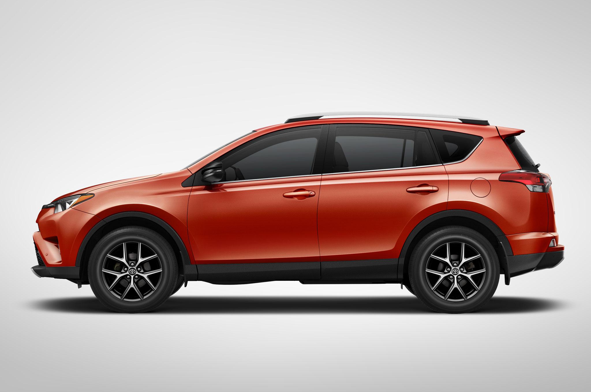 2016 Toyota Rav4 Side Profile
