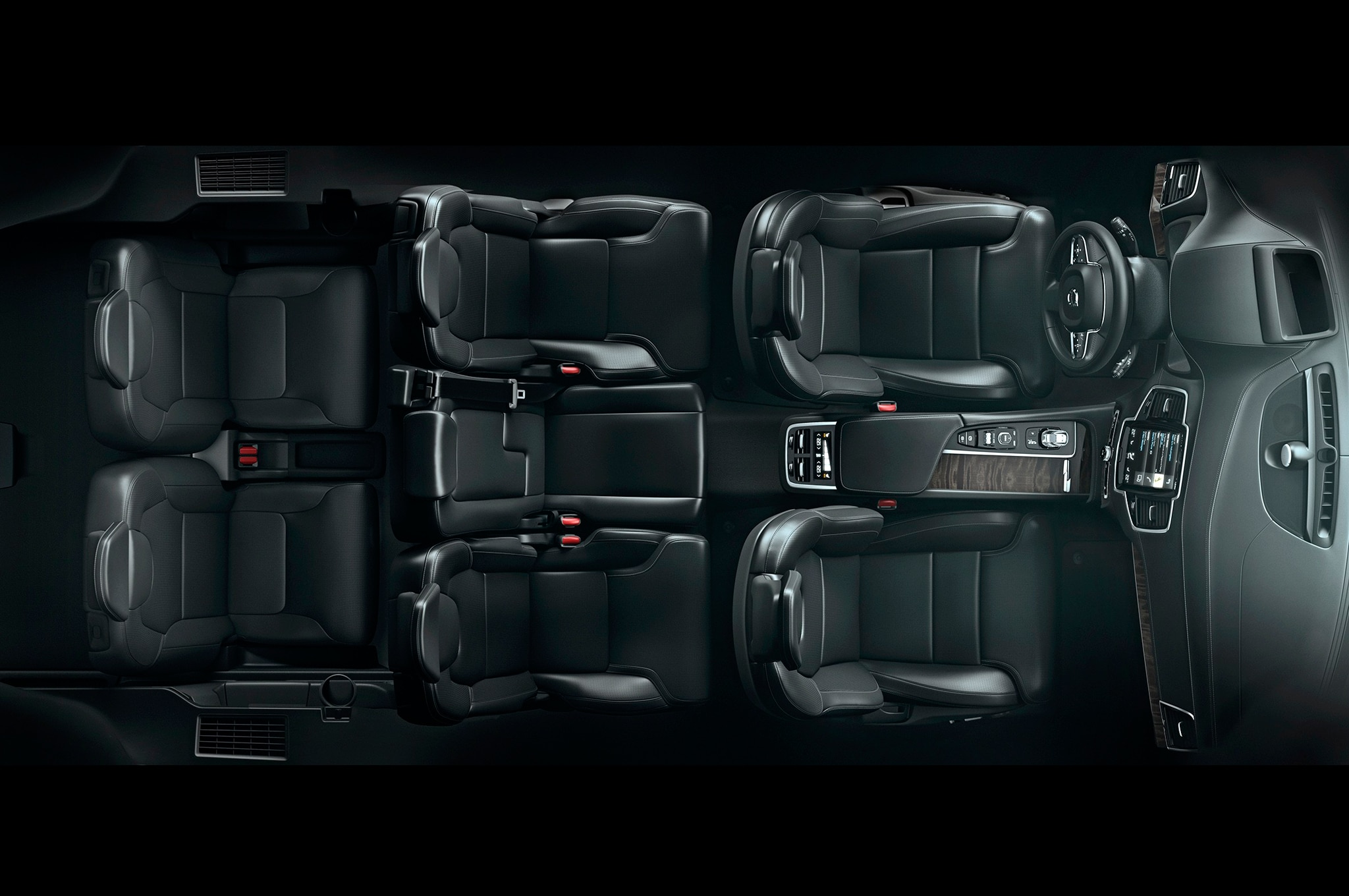 Volvo Lounge Concept Redefines Rear Legroom in the XC90 ...