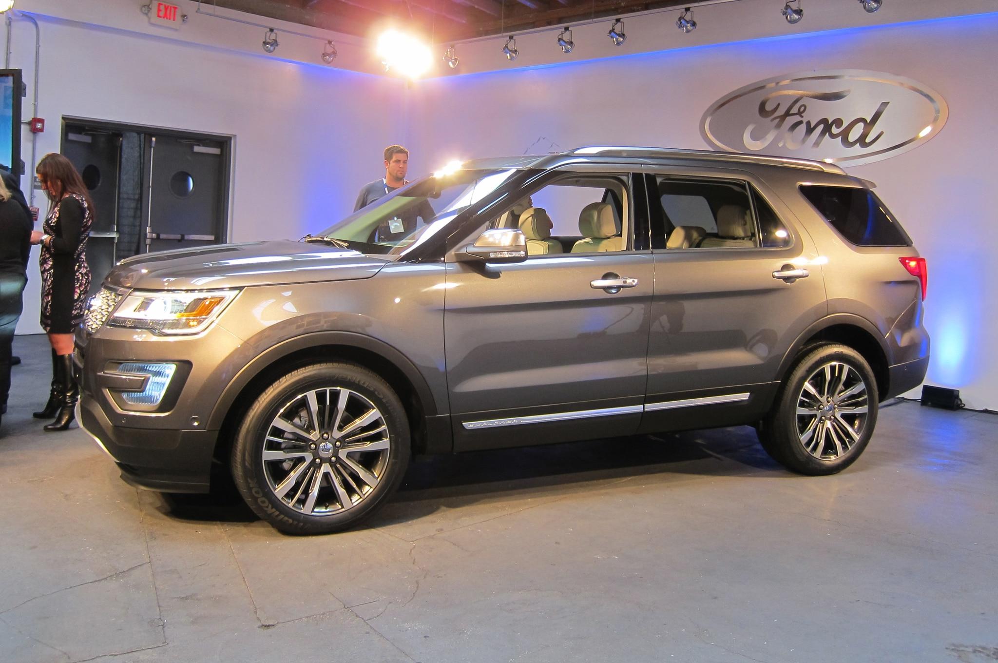 2018 Ford Explorer Spec >> One Week With: 2016 Ford Explorer Platinum