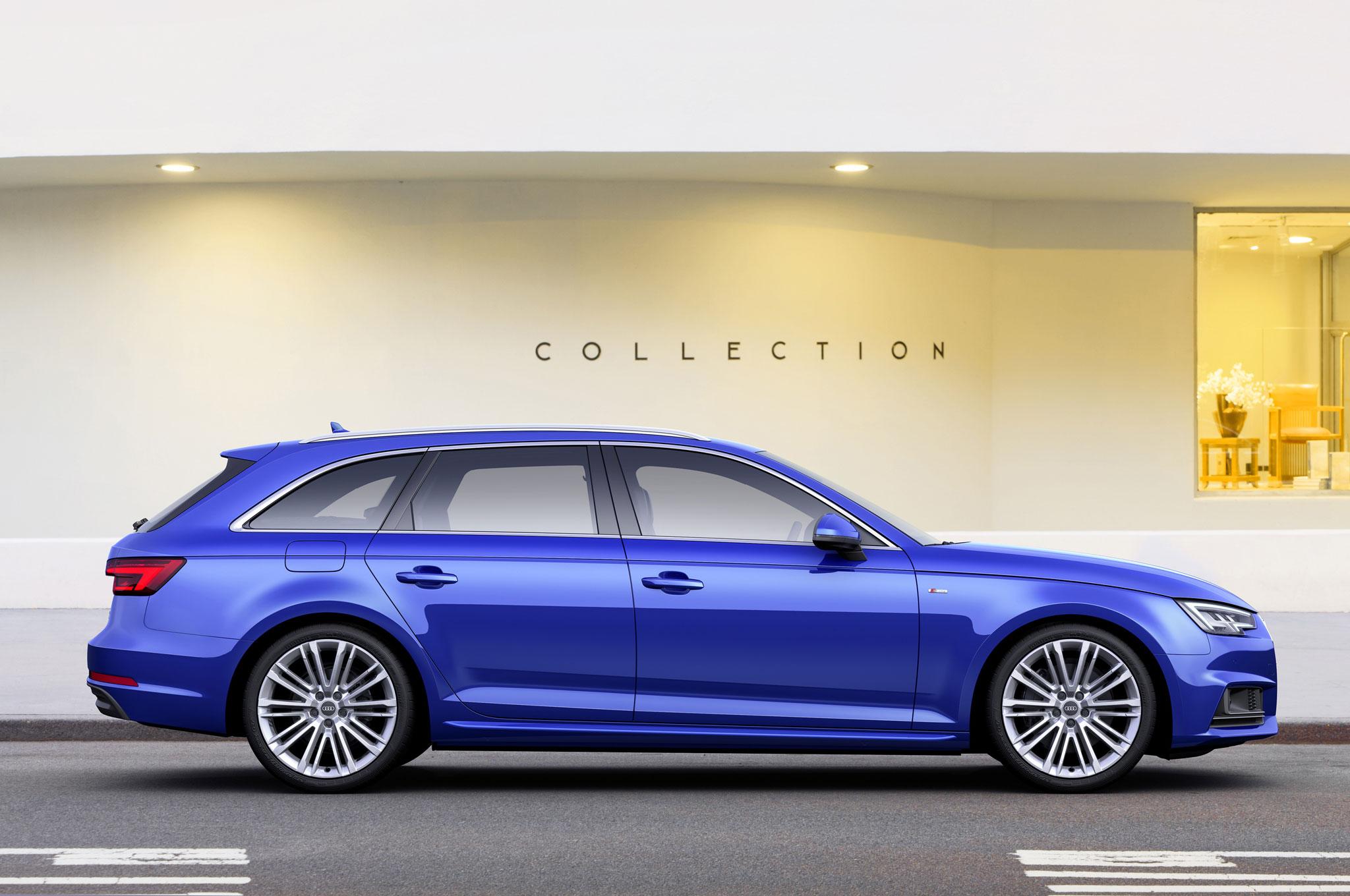 2017 Audi A4 Avant 3 0 Tdi Quattro Side Profile 02
