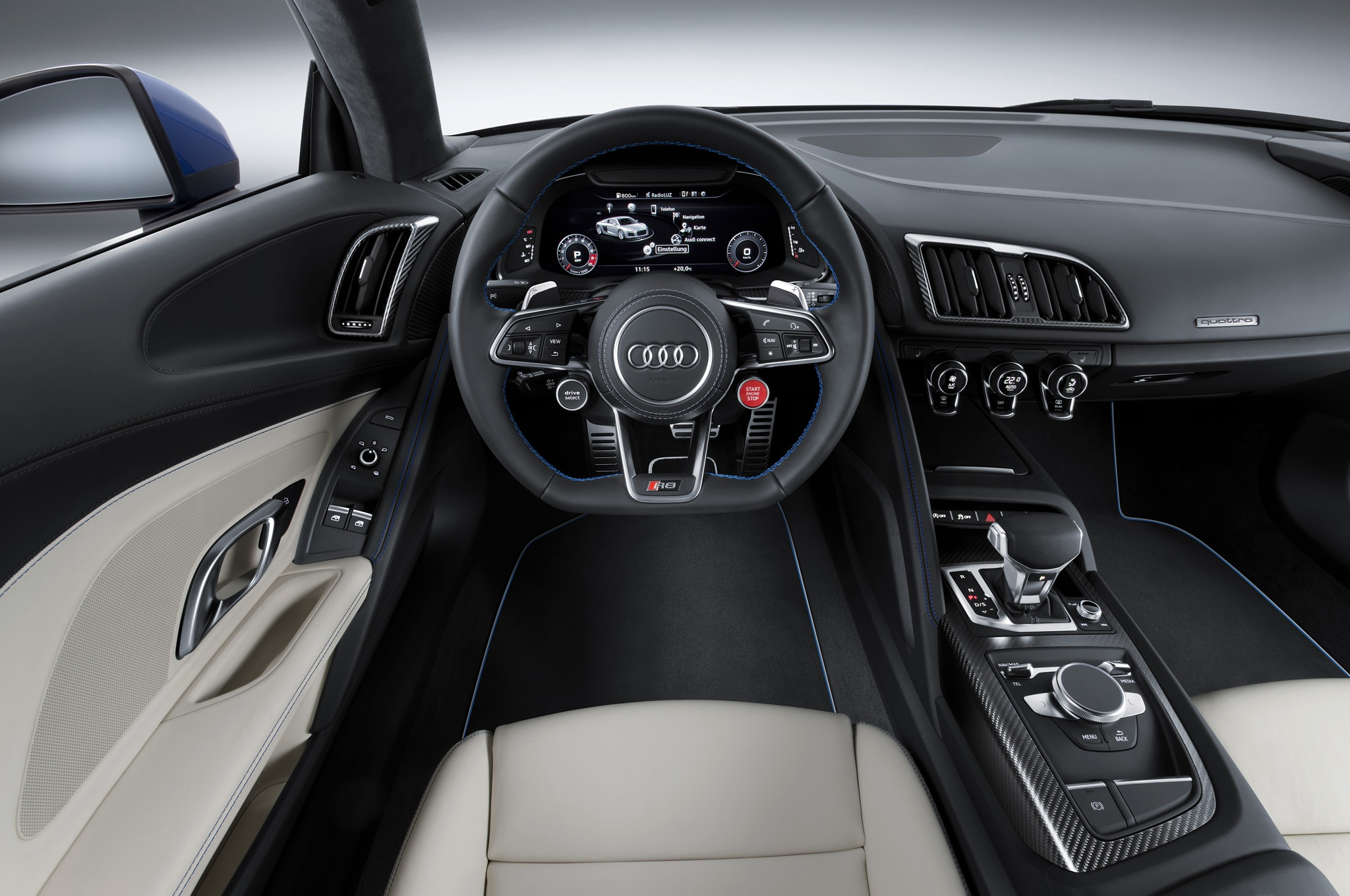 2017 Audi R8 V10 Interior