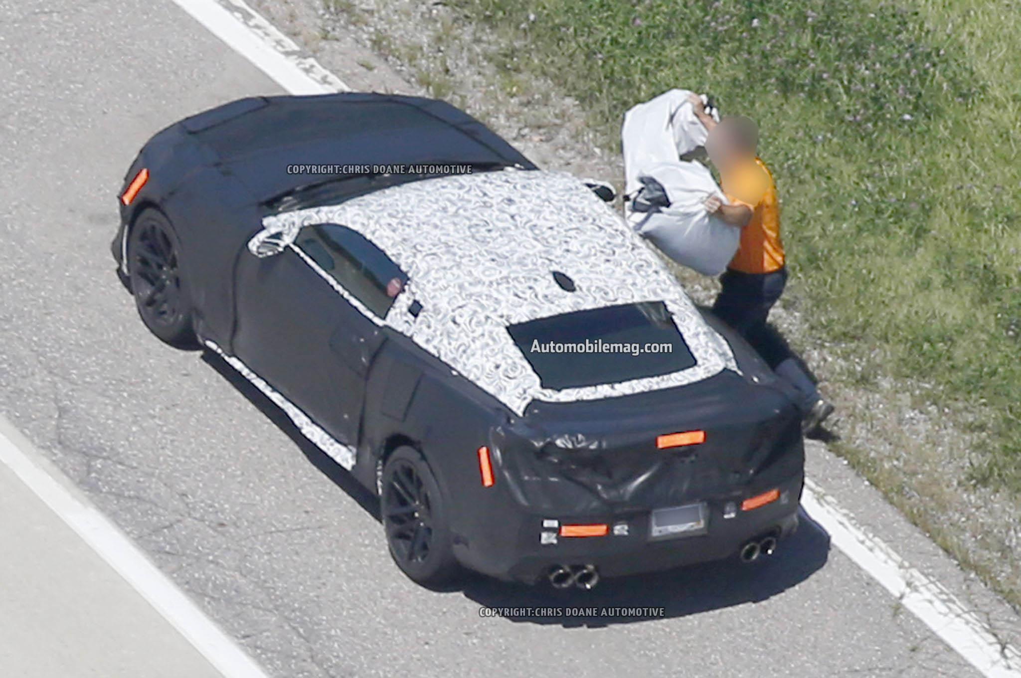 2017 Chevrolet Camaro Zl1 Spied