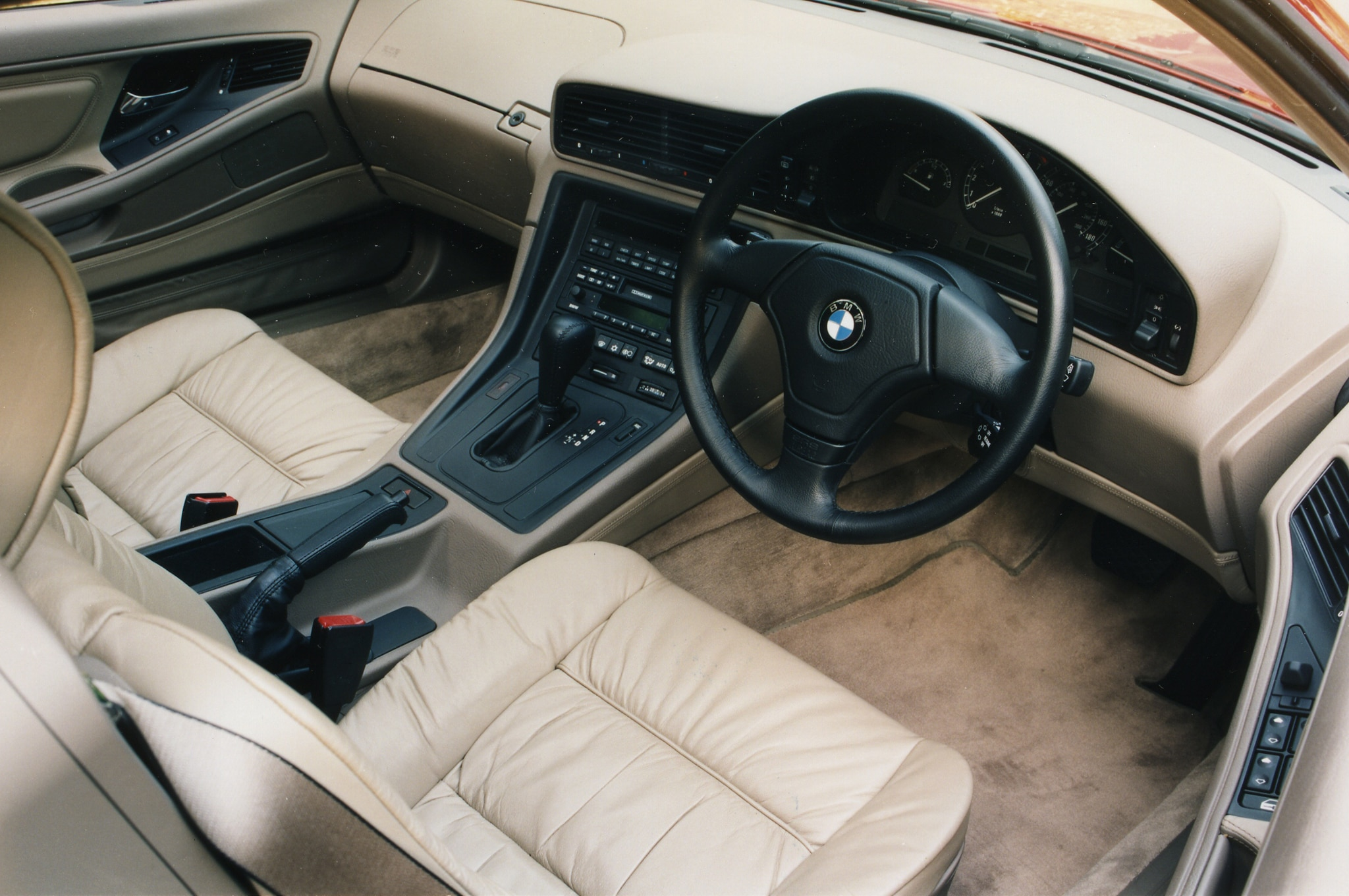 Interior: Exclusive: BMW 8 Series Concept Quick Drive