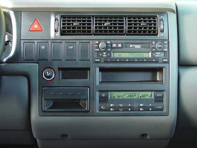 Volkswagen Eurovan Gls Van Instrument Panel