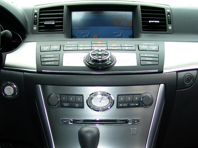 2006 Infiniti M35 And M45 2005 Naias Detroit Auto Show Coverage
