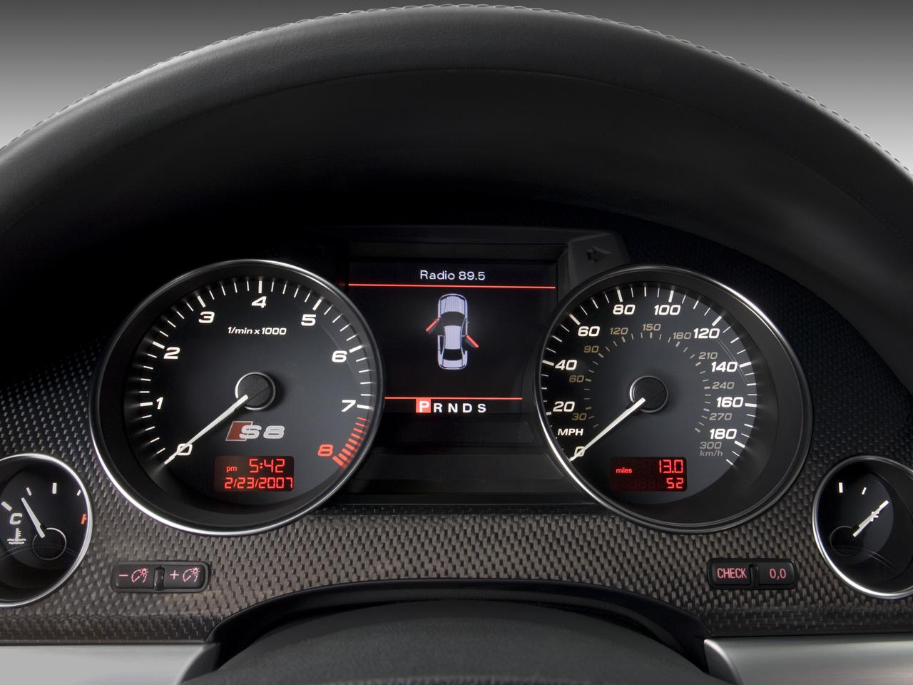 Audi S Road Test Review Automobile Magazine - 2007 audi s8