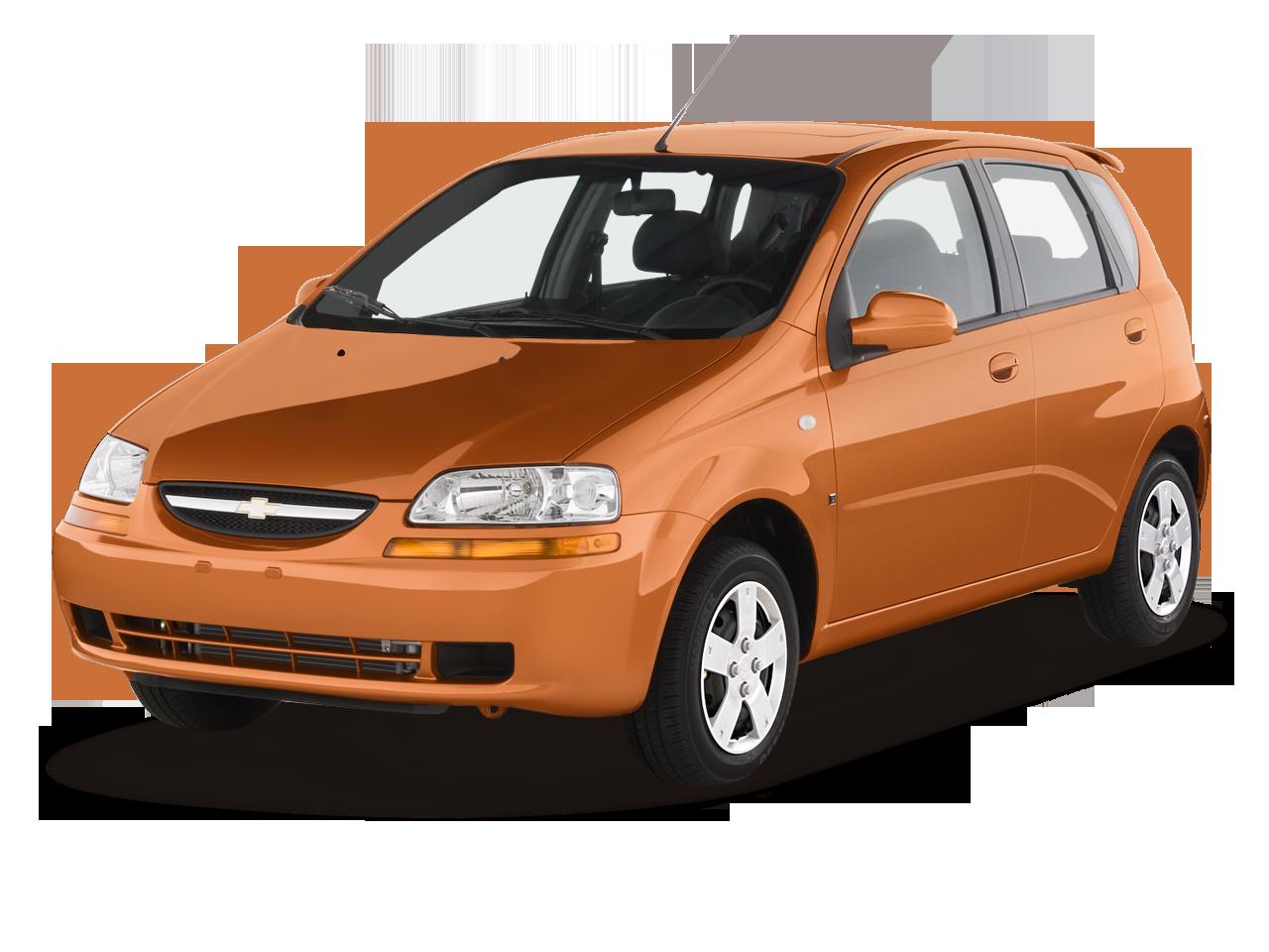 Chevrolet Aveo Ls Door Hatchback Angular Front