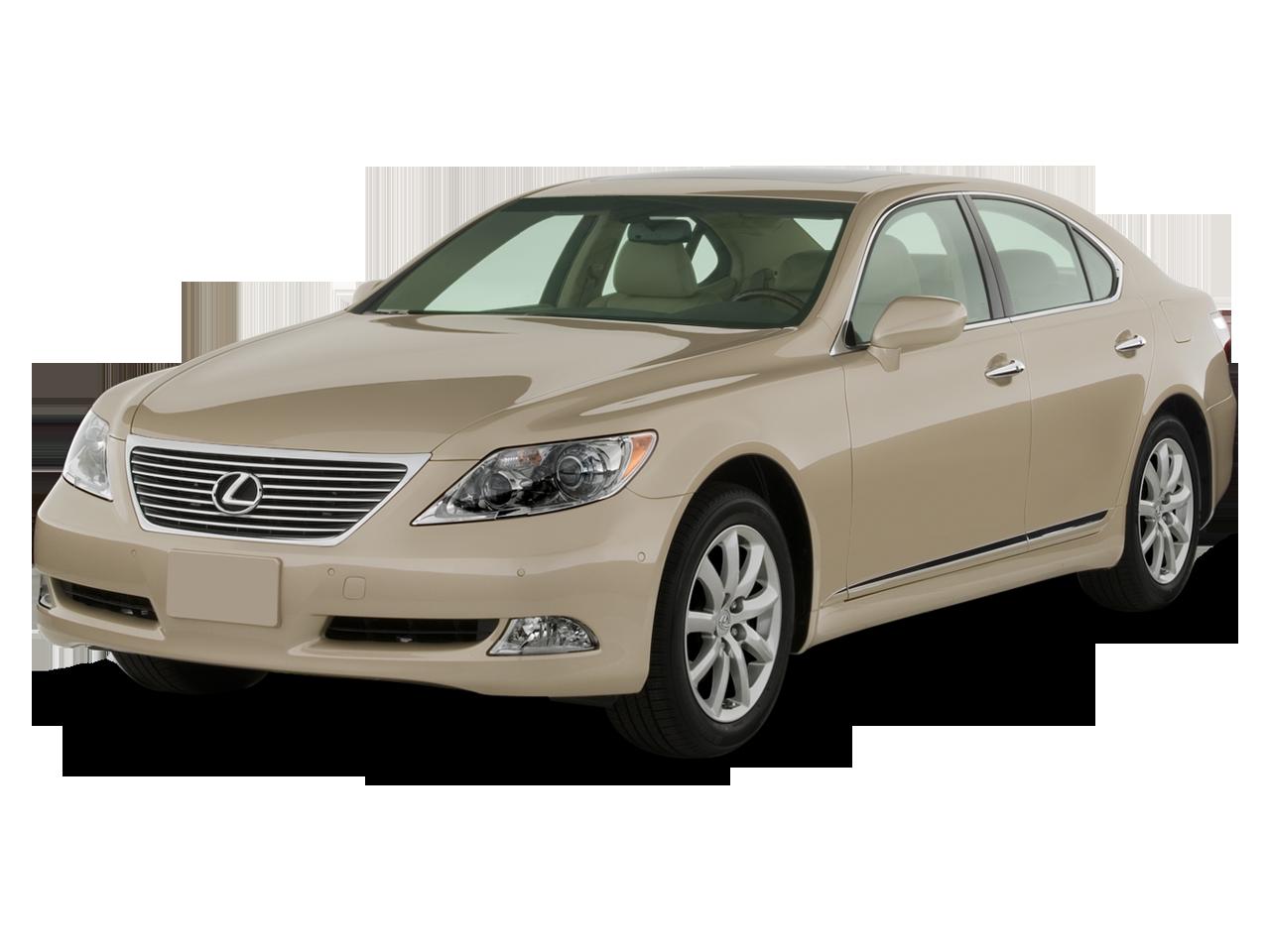 Lexus Ls Luxury Sedan Angular Front