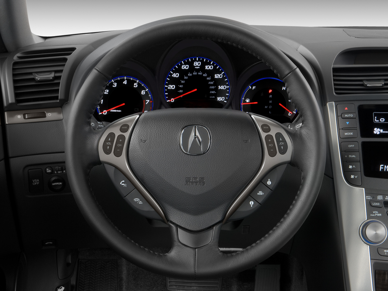 Acura TL Latest News Features And Reviews Automobile Magazine - Acura tl dashboard