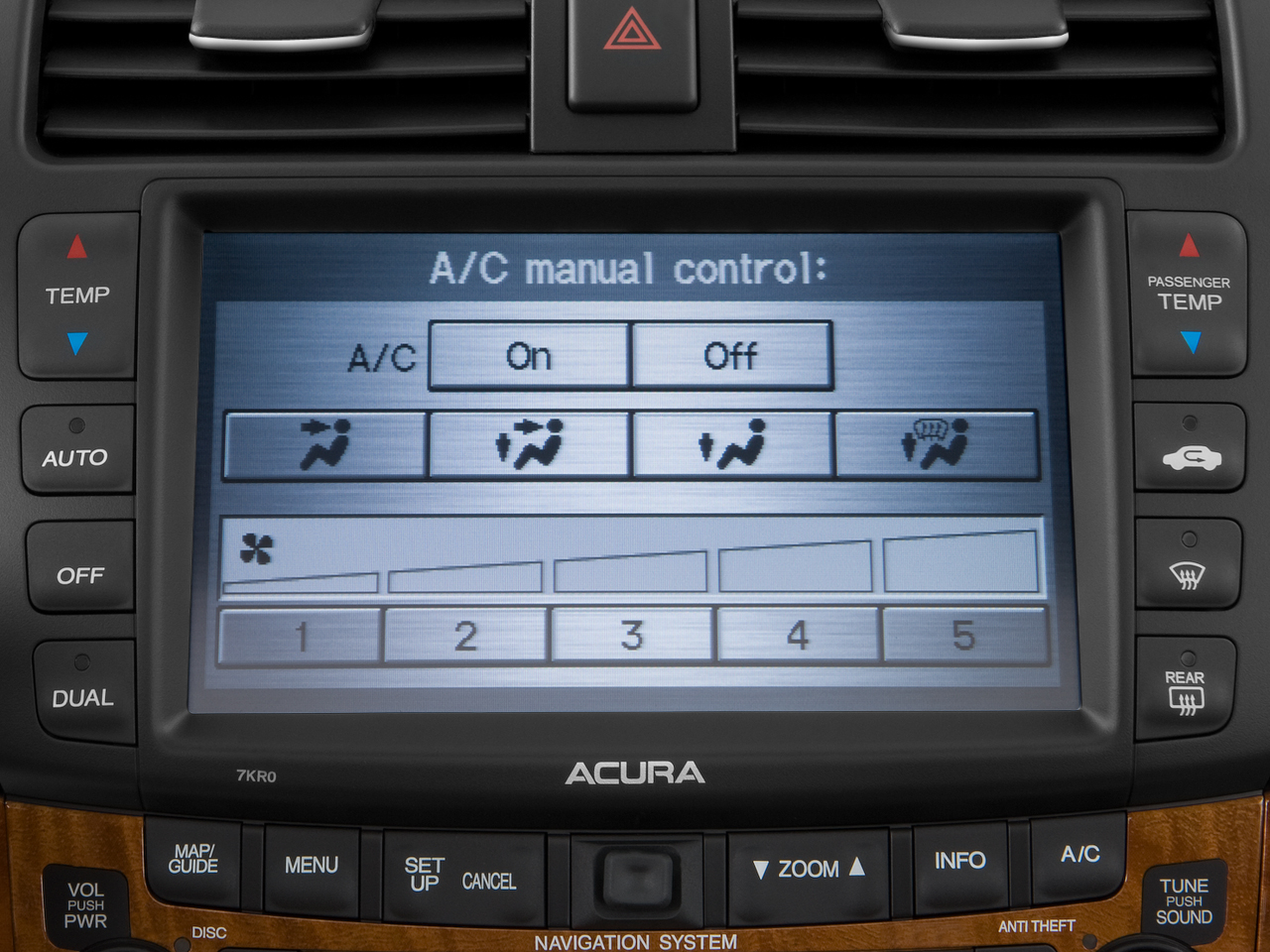 2004 acura tsx navigation system problems