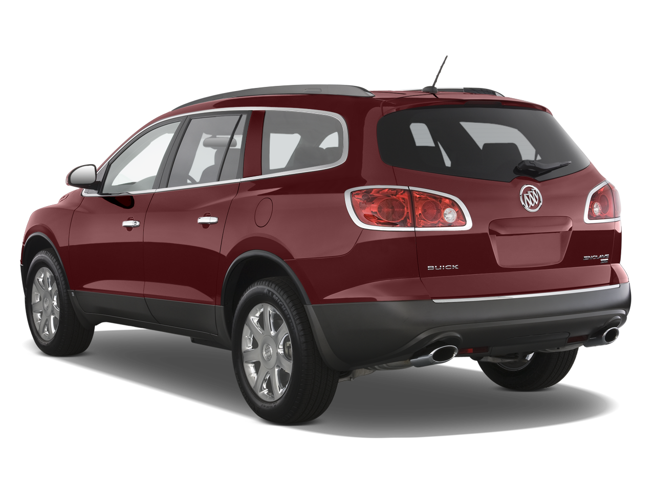 Buick Enclave Cxl Awd Suv Angular Rear on 2008 Buick Lacrosse Cxl