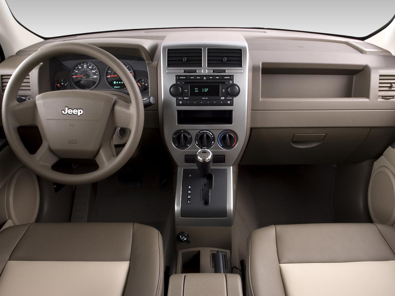 Jeep Patriot Sport Wd Suv Dashboard