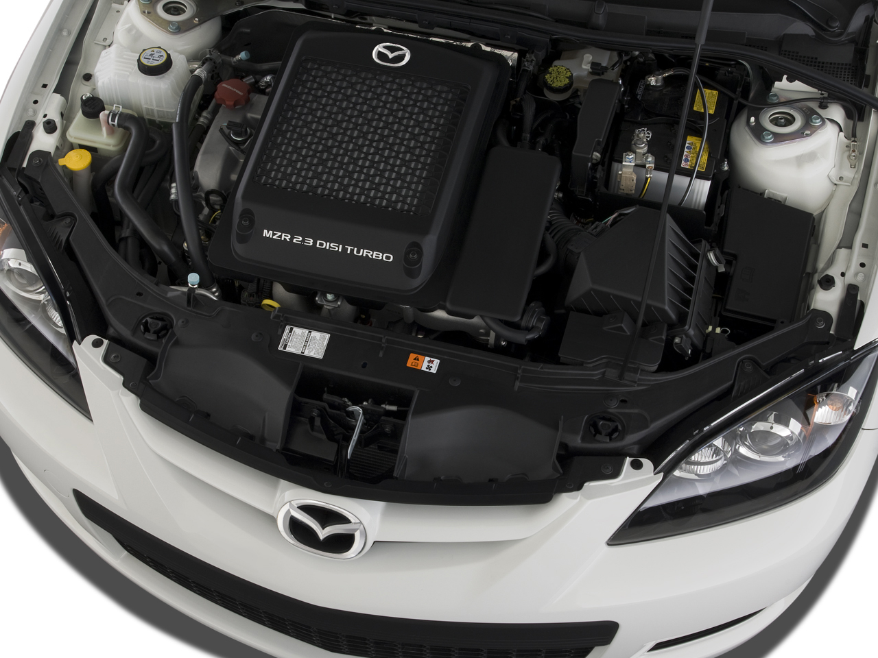 Mazda 3 Service Manual: Drive Belt Inspection Mzr 2.3 Disi Turbo