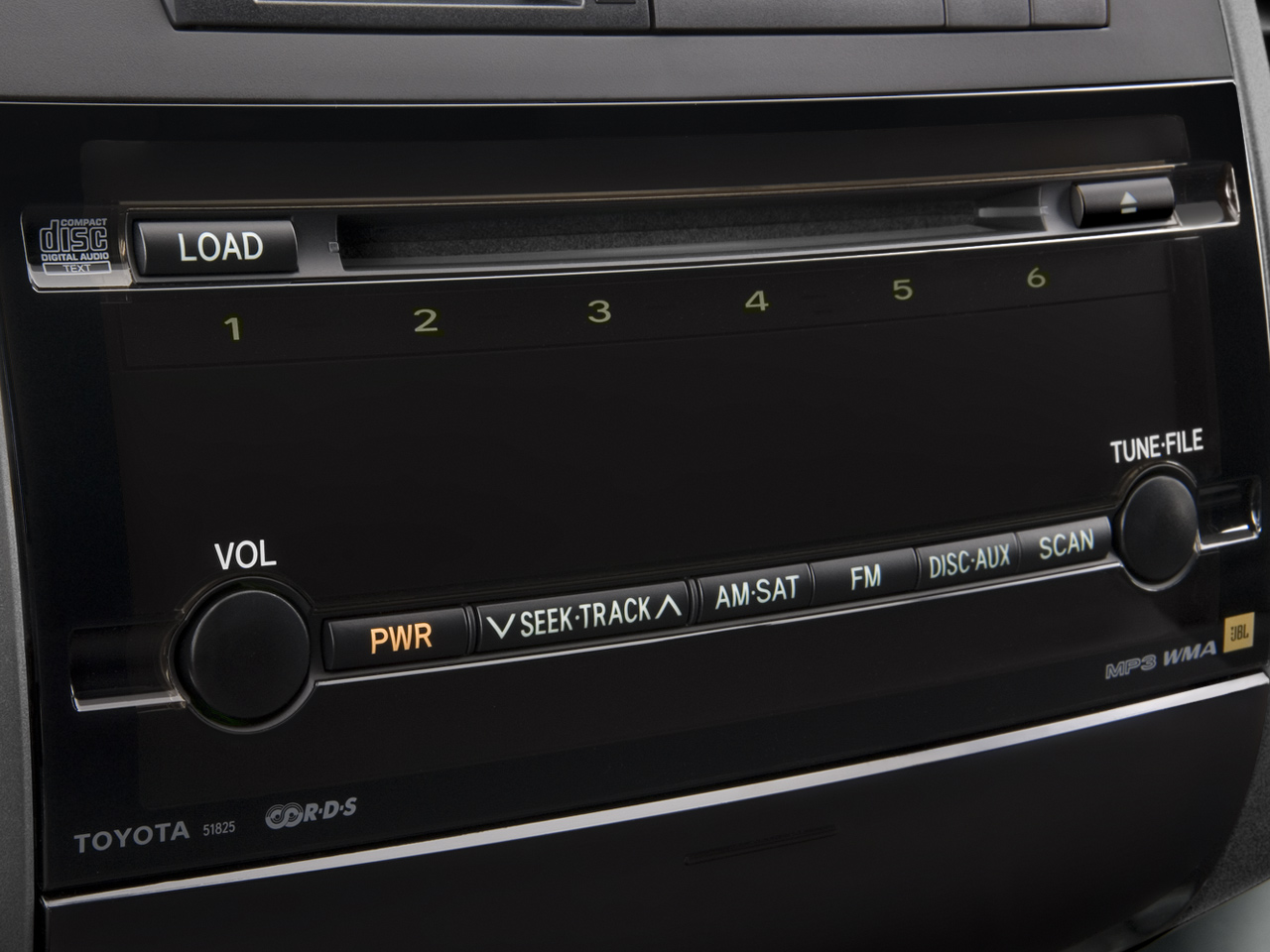 2008 Toyota Prius Touring Edition Hybrid Sedan Review Interior 43 50