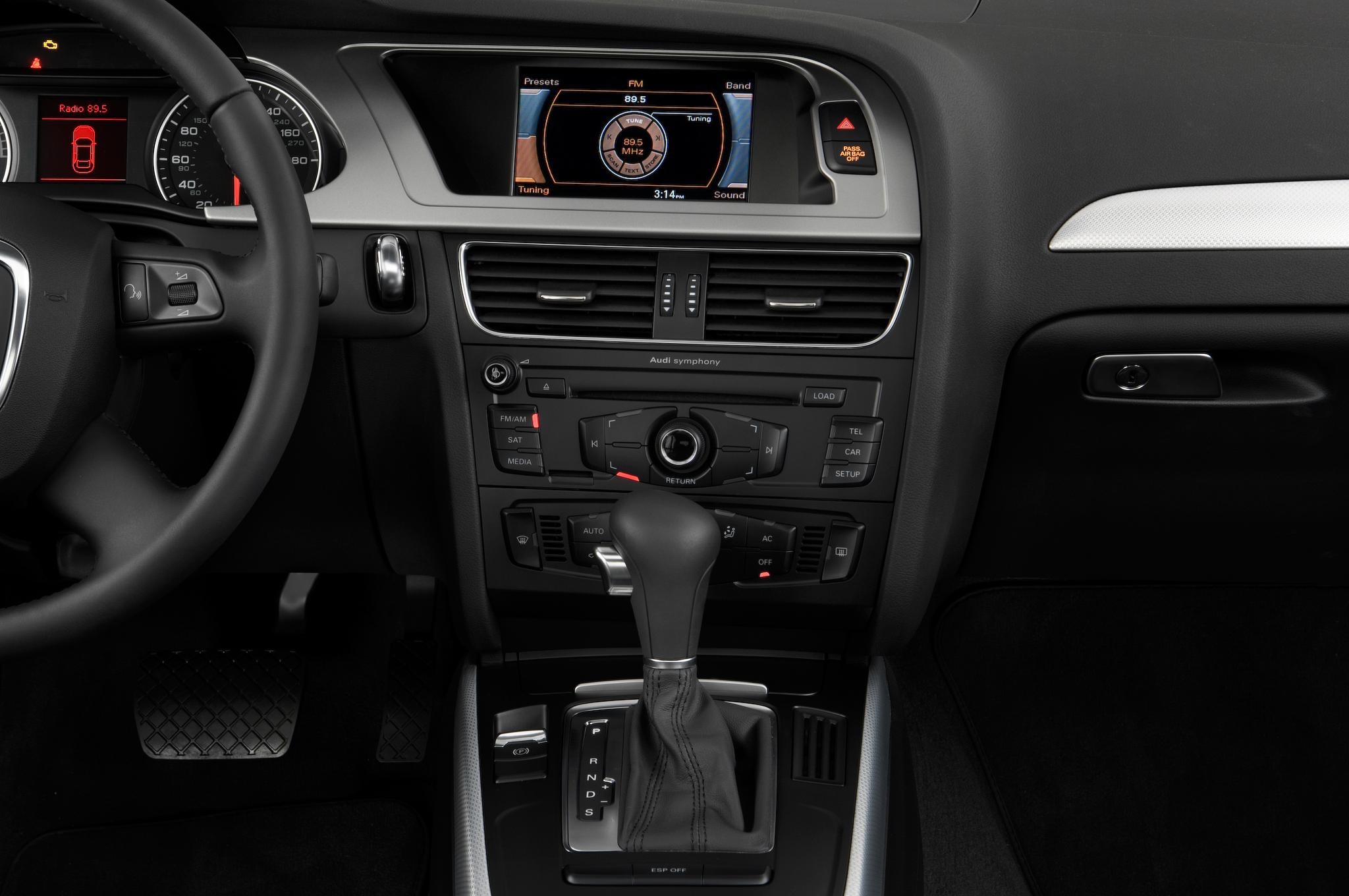 2010 Audi A4 2 0T M T Audi Luxury Sedan Review Automobile Magazine