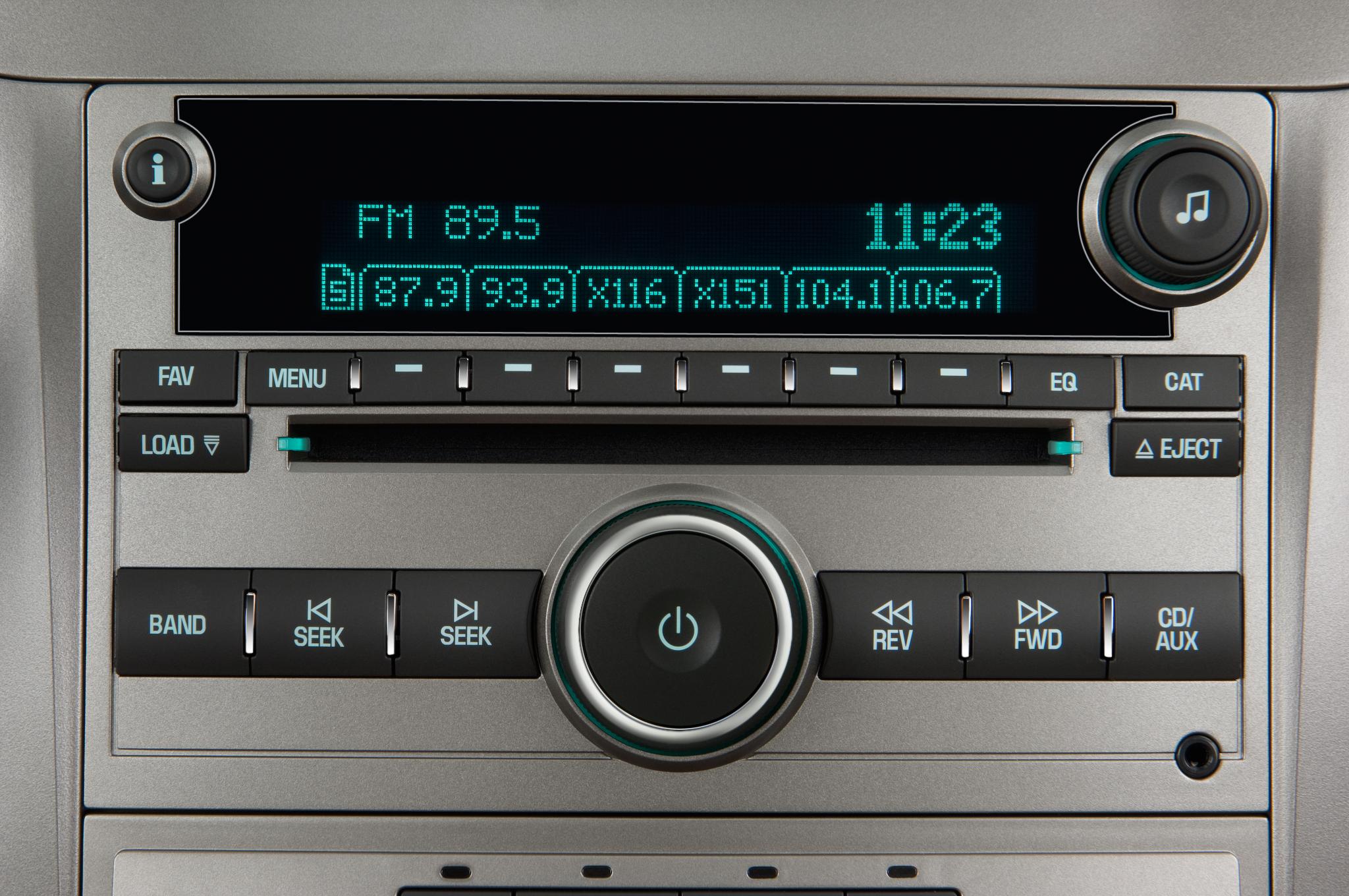 2010 chevy malibu sound system