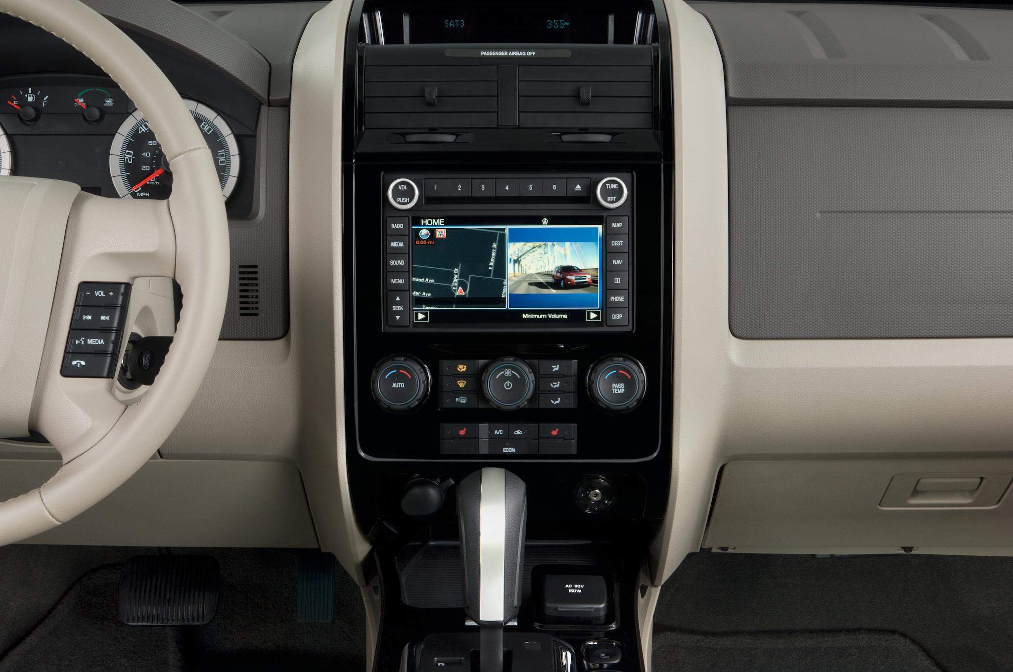 2012 Ford Escape Audio System Radio Hybrid Suv Review Automobile Magazine 2048x1360
