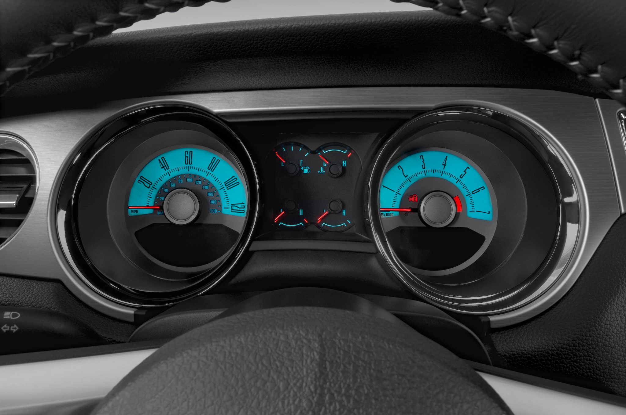 2010 Ford Mustang Less Expensive Than Camaro And Challenger 67 Gt Tachometer Wiring 101