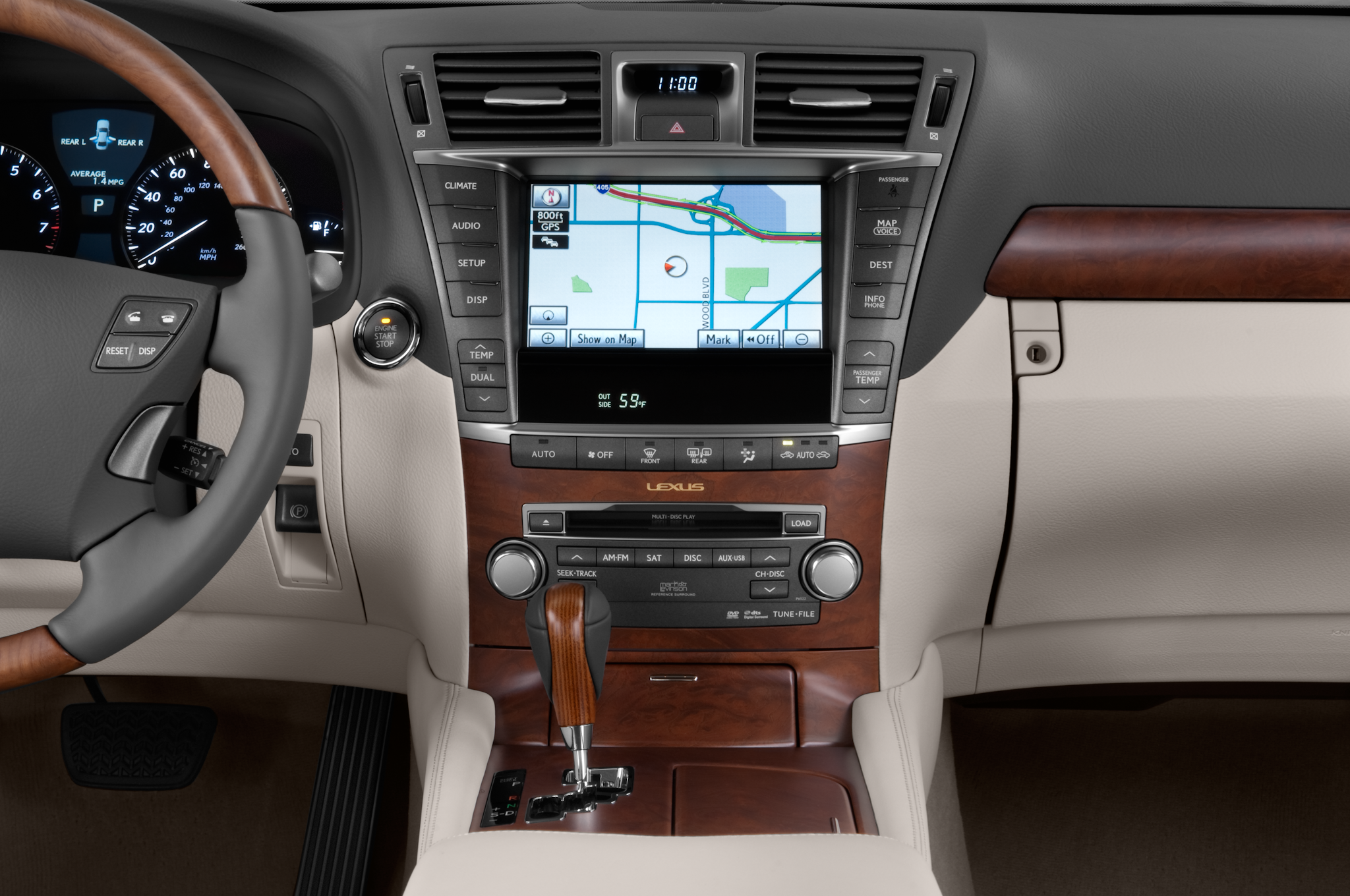 2010 Lexus Ls460l Lexus Luxury Sedan Review Automobile