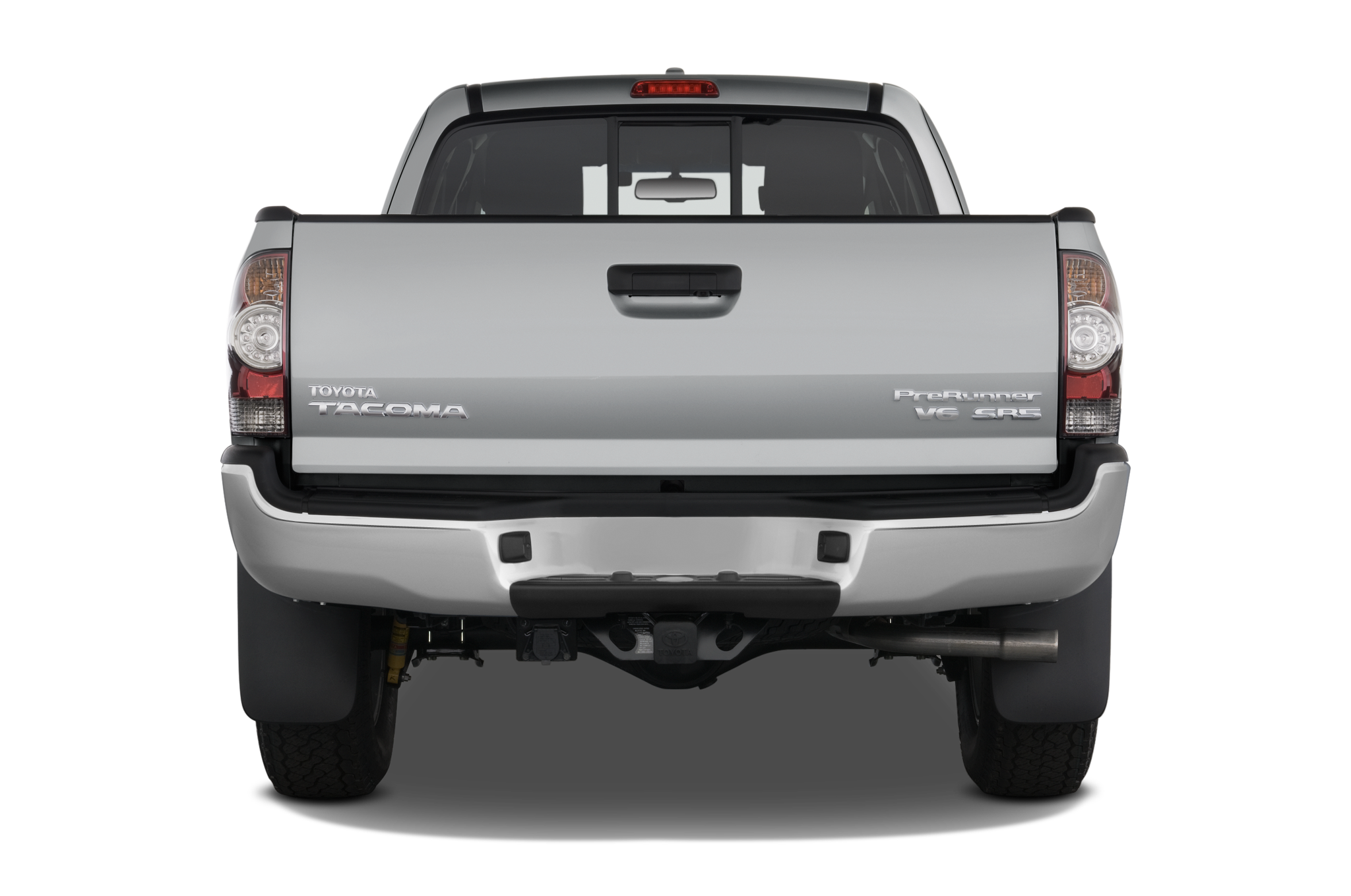 2010-toyota-tacoma-prerunner-access-cab-v6-auto-2wd-truck-rear-view Great Description About Tacoma Tailgate