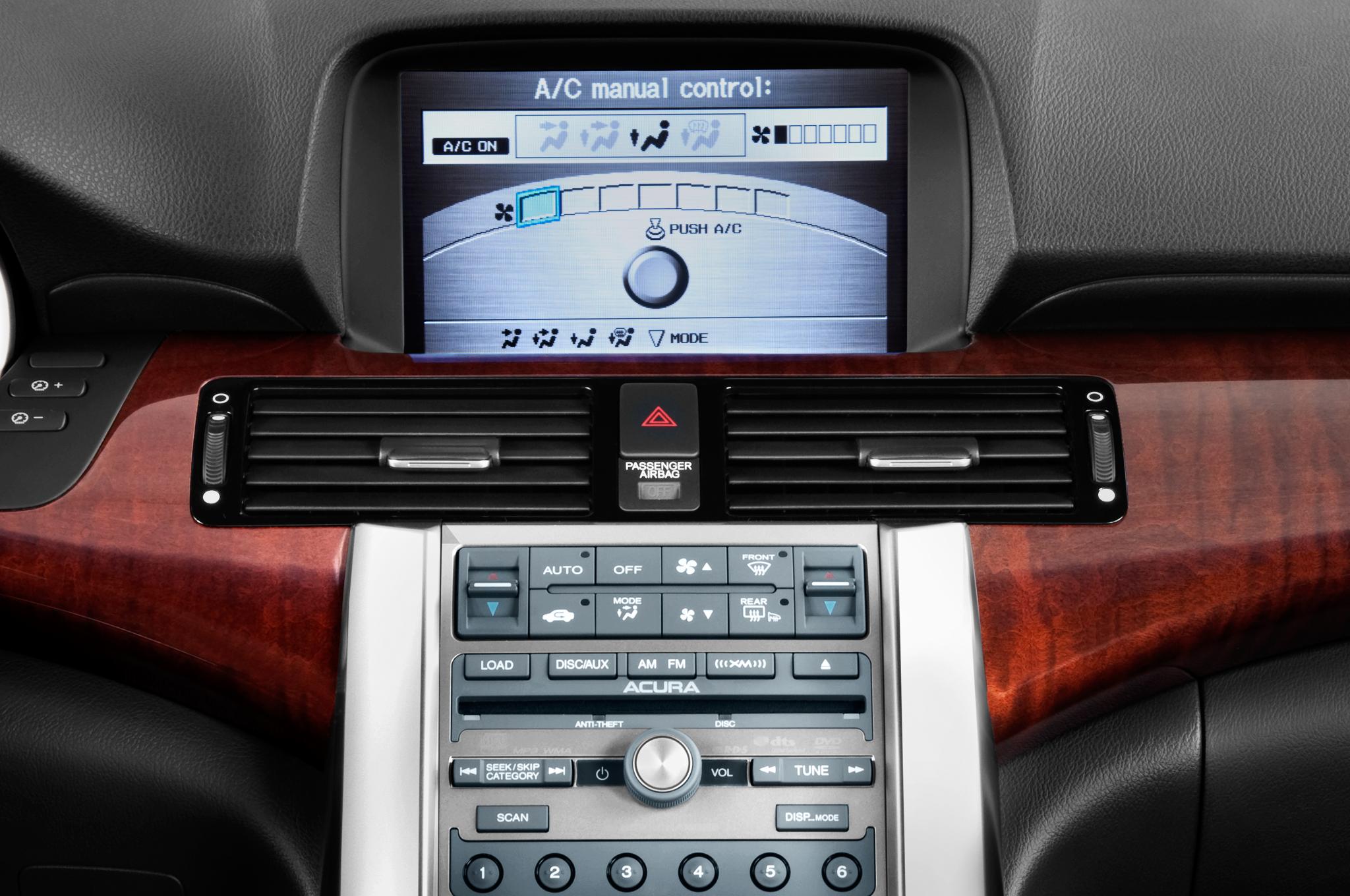Acura RL Advance Editors Notebook Automobile Magazine - Acura legend radio