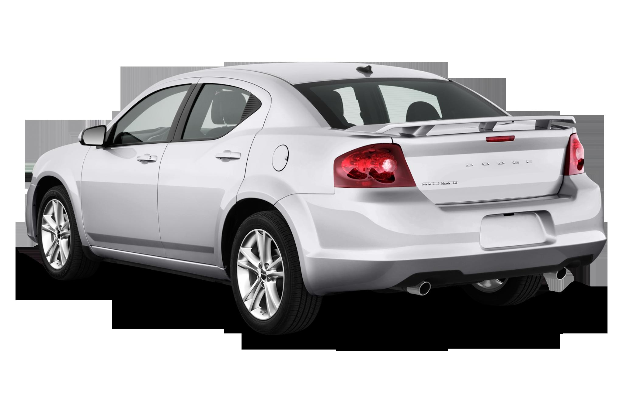 Dodge Avenger Sxt Sedan Angular Rear