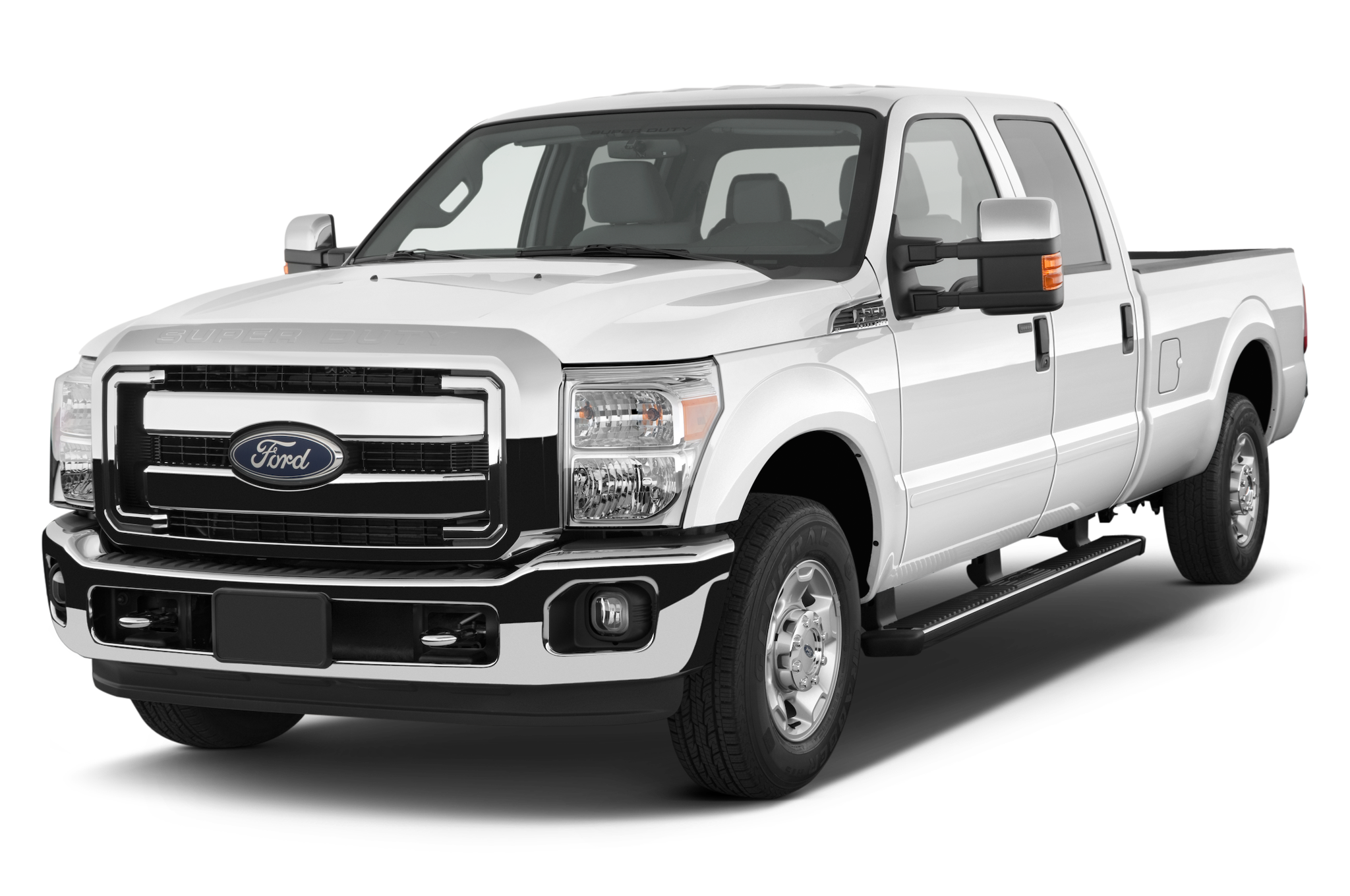 Ford Super Duty F Xlt Crew Cab In Truck Angular Front
