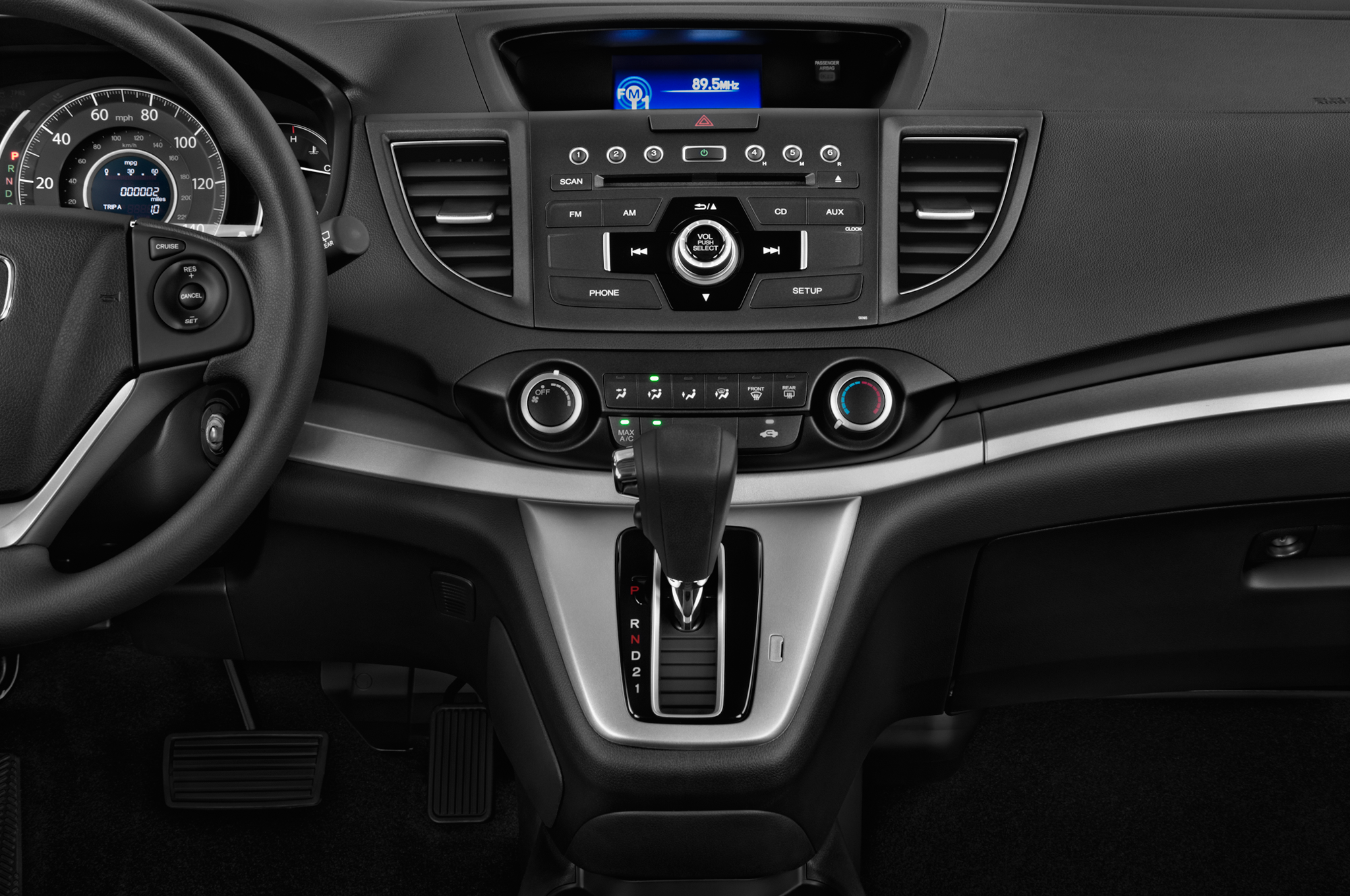 2012-honda-crv-ex-auto-2wd-suv-instrument-panel Take A Look About Honda Cr 100