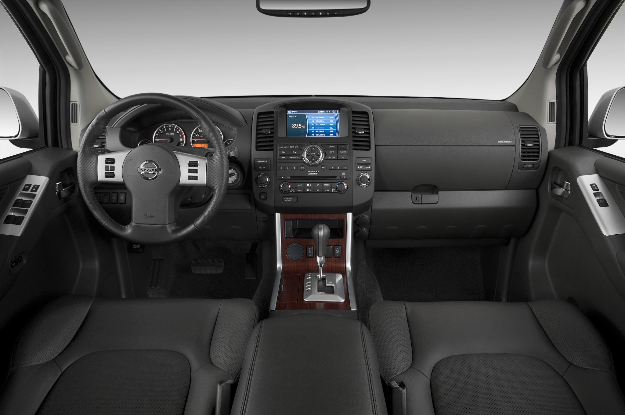 2013 Nissan Pathfinder Interior Revealed