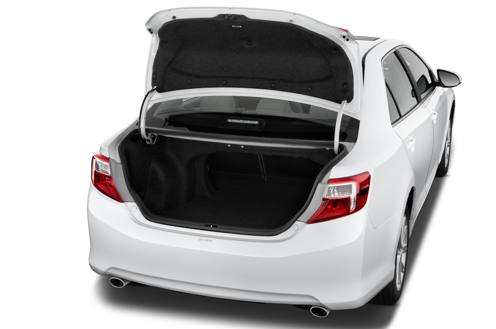 how to open 2014 toyota camry trunk without key