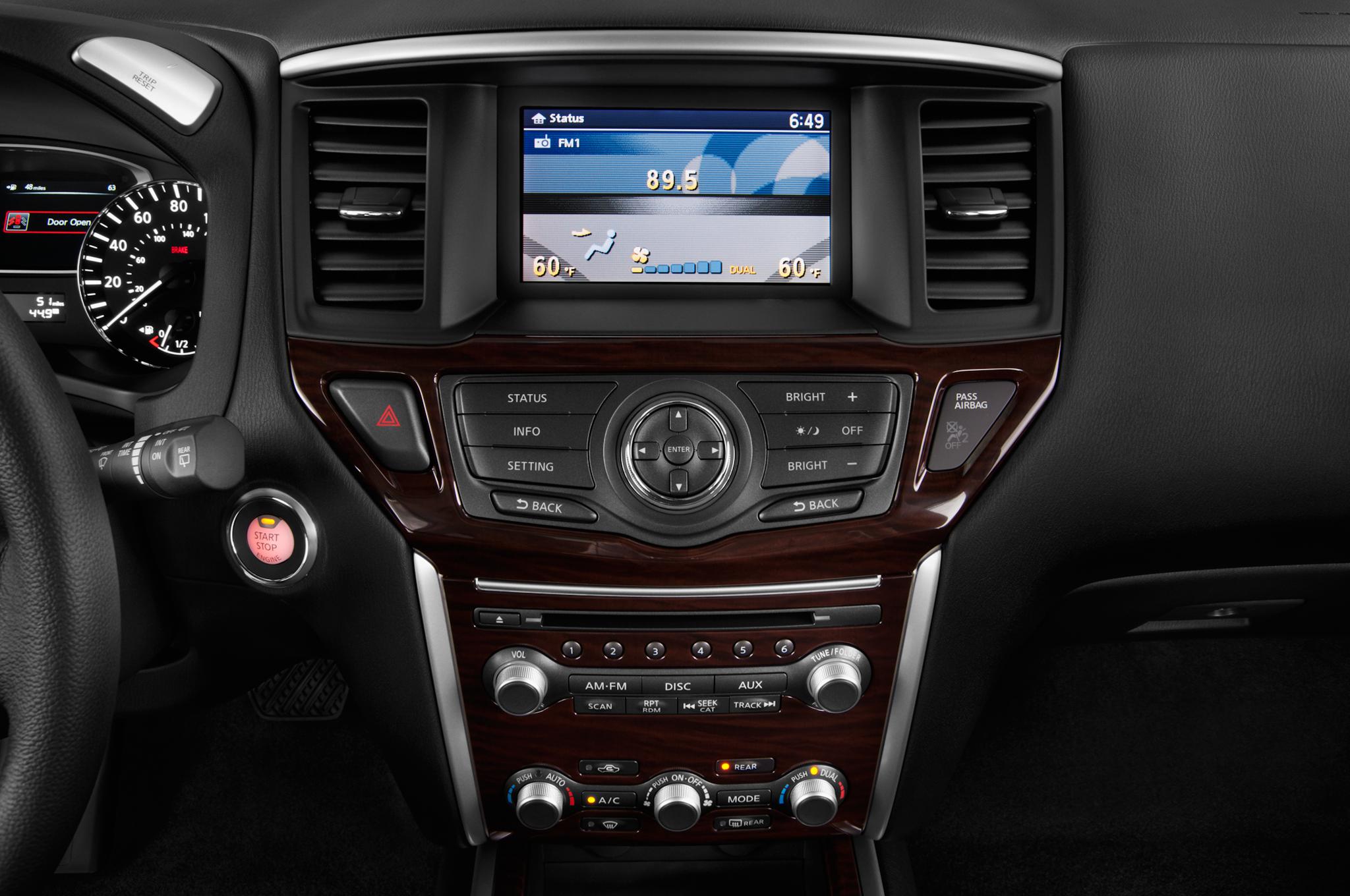 2011 nissan pathfinder stereo upgrade