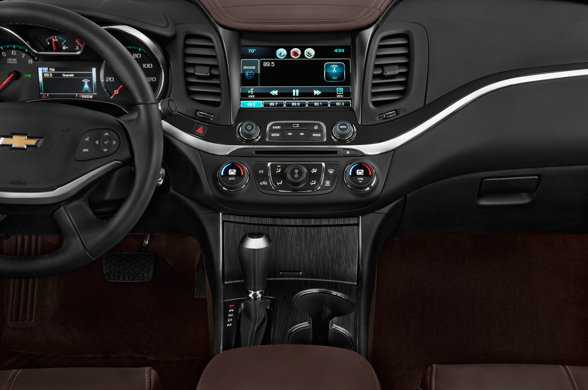 Chevrolet releases new impala midnight edition appearance package for Chevrolet impala 2015 interior
