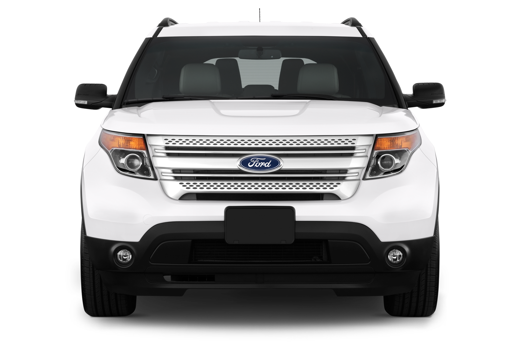 Ford Explorer Prototype Shows Off Revised Front And Rear
