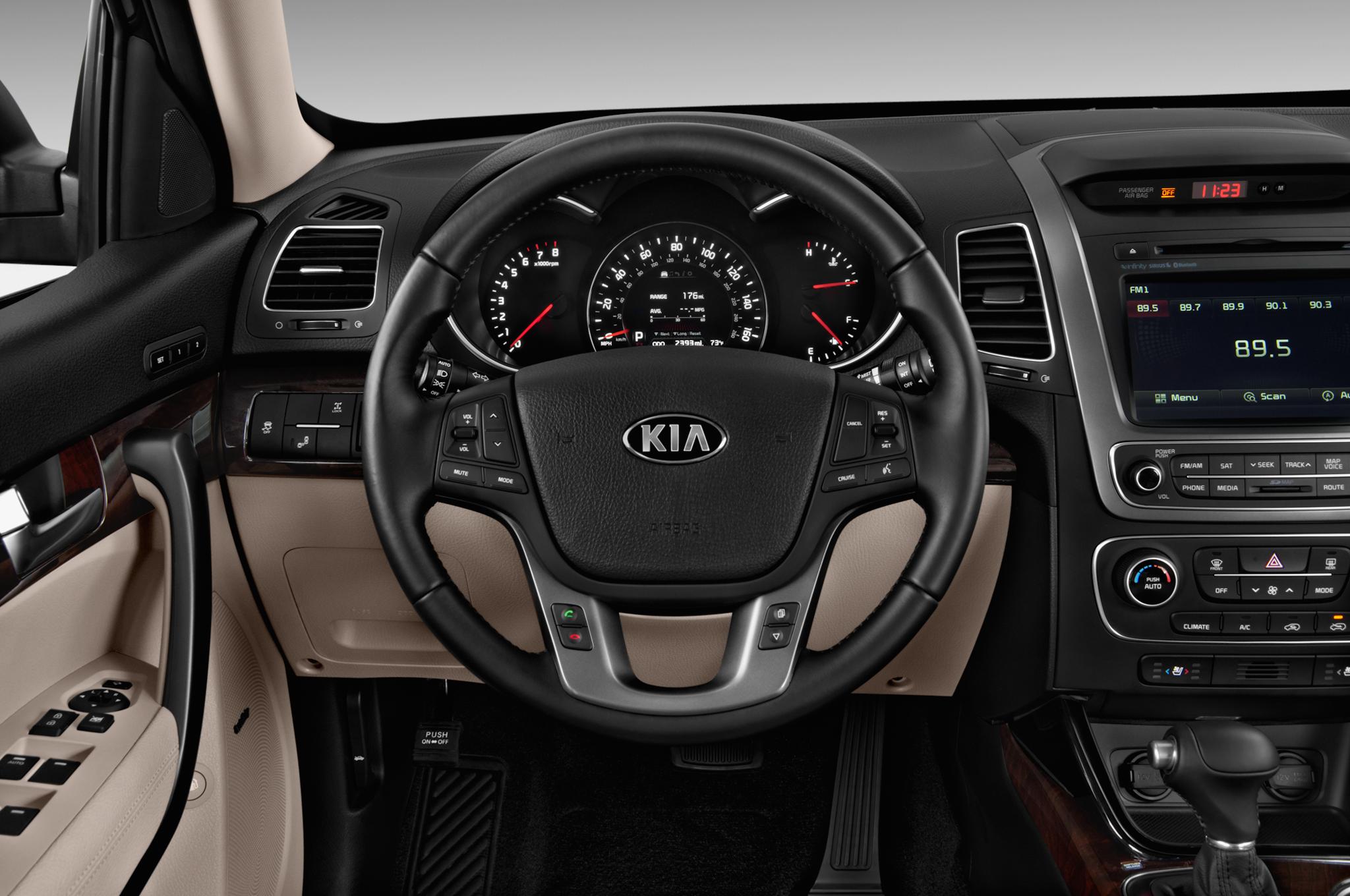 Kia Sorento 2018 Interior >> 2016 Kia Sorento Interior Teased Ahead of Korean Premiere