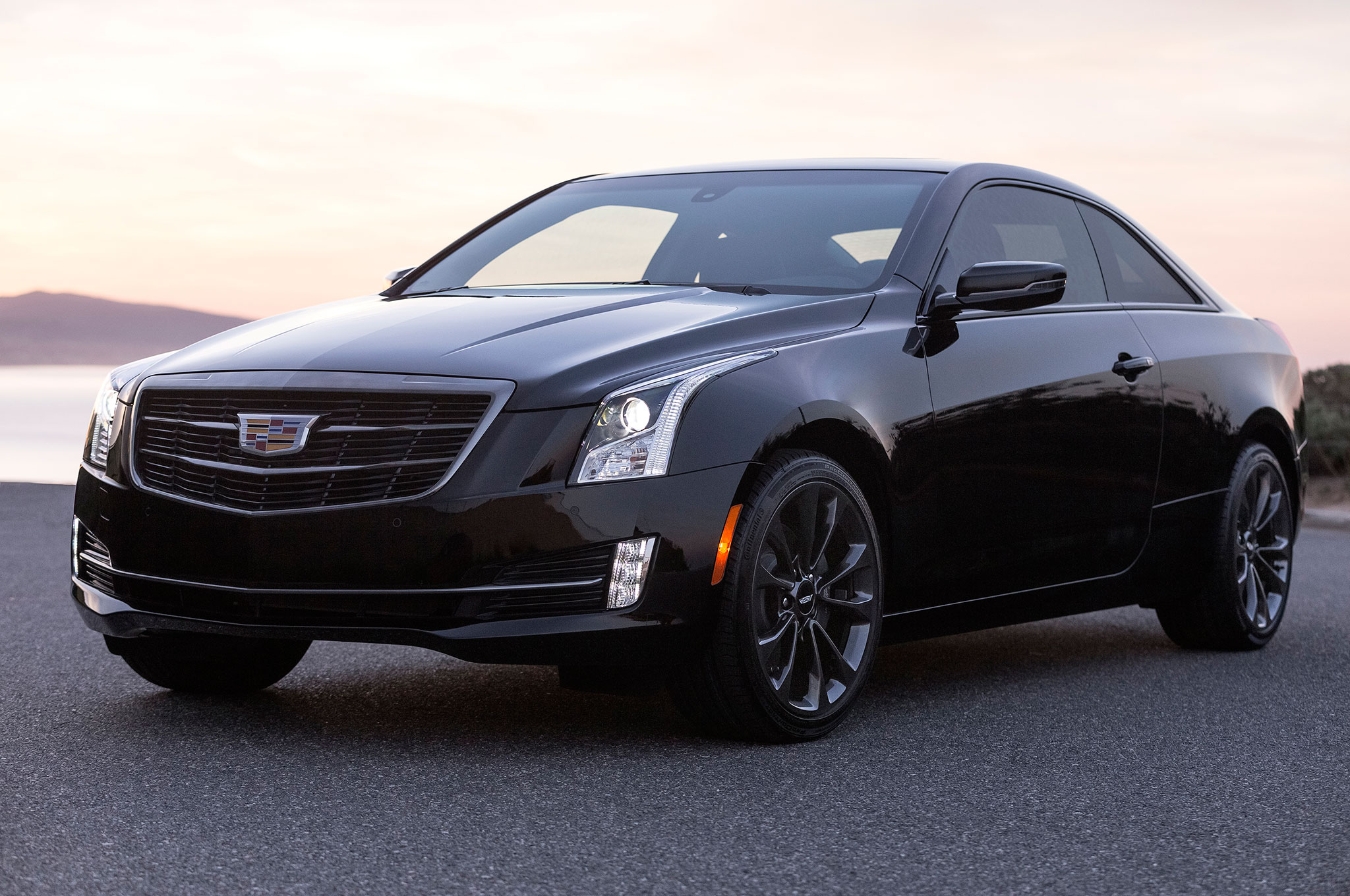 Cadillac Ats Sedan >> 2016 Cadillac ATS and CTS Add Black Chrome Package | Automobile Magazine