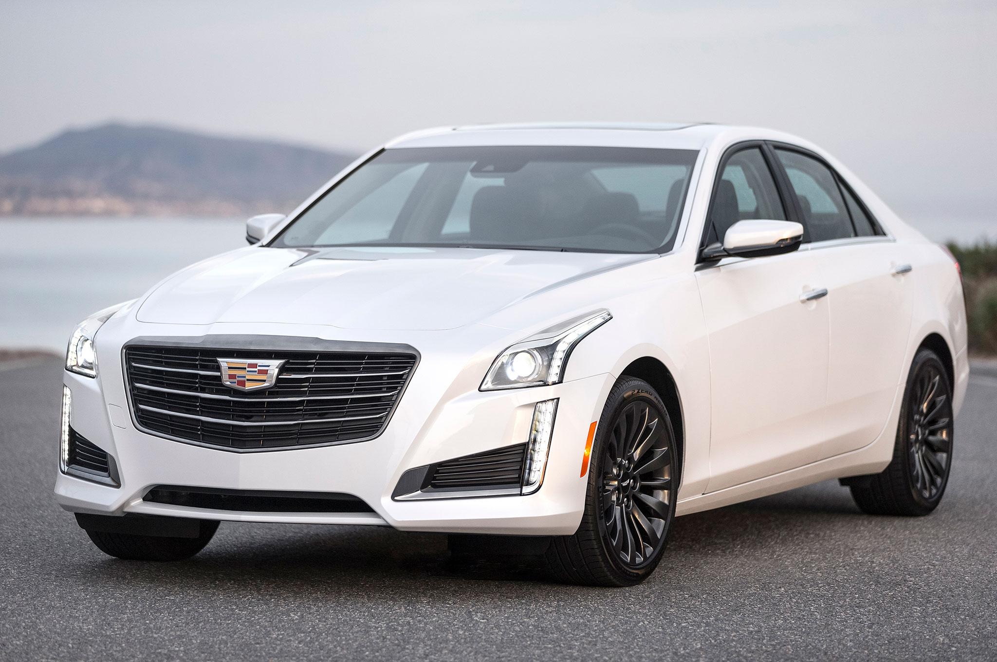 Cadillac Cts Black Chrome Front Three Quarter